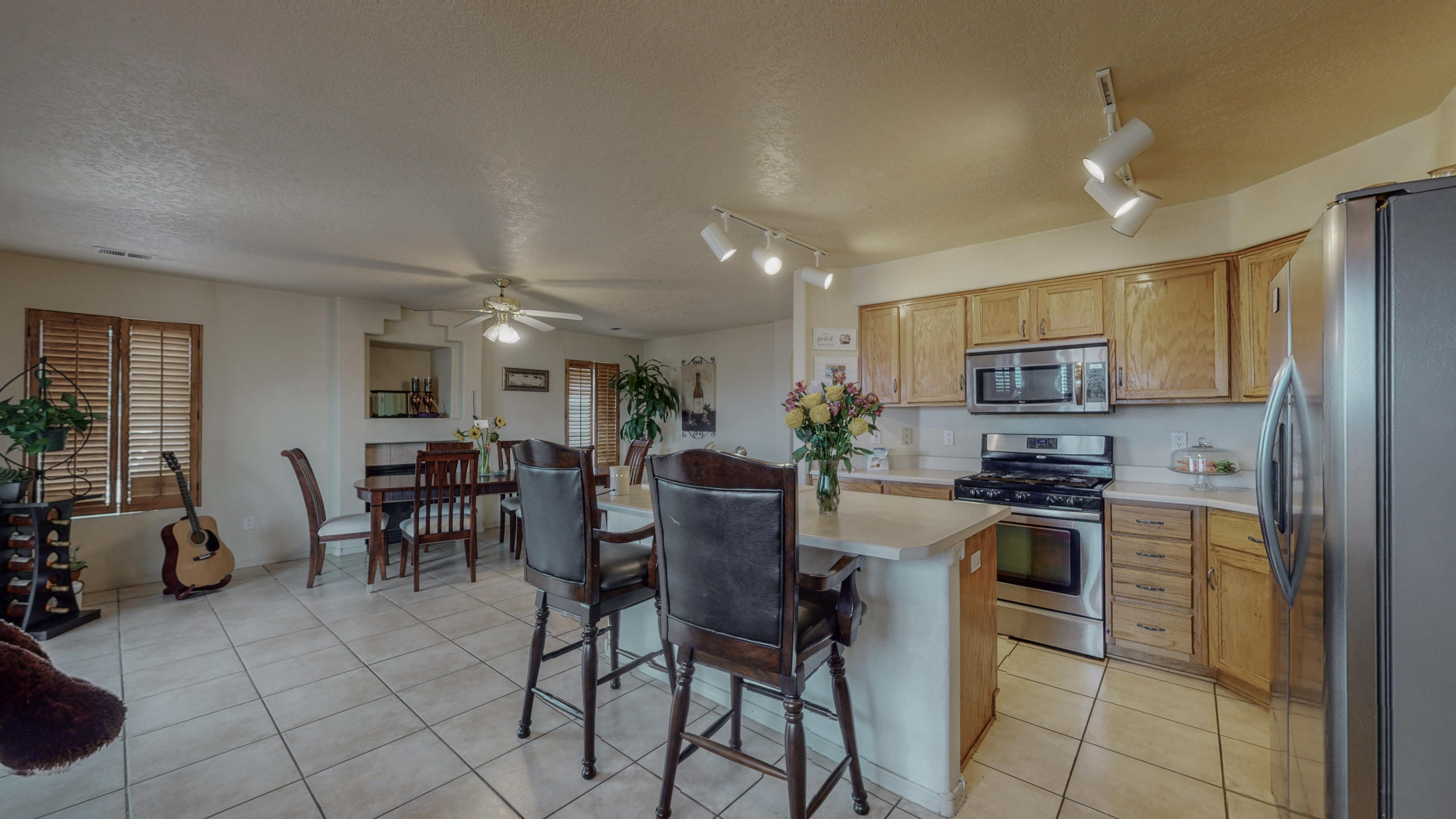 This beautiful home has been well maintained and cared for and it shows, it has beautiful views from the upstairs balcony, big spacious backyard with very low maintenance, refrigerated air, wood shutter, great location conveniently located near tons of restaurants and shopping. Schedule a tour you won't want to miss this one.