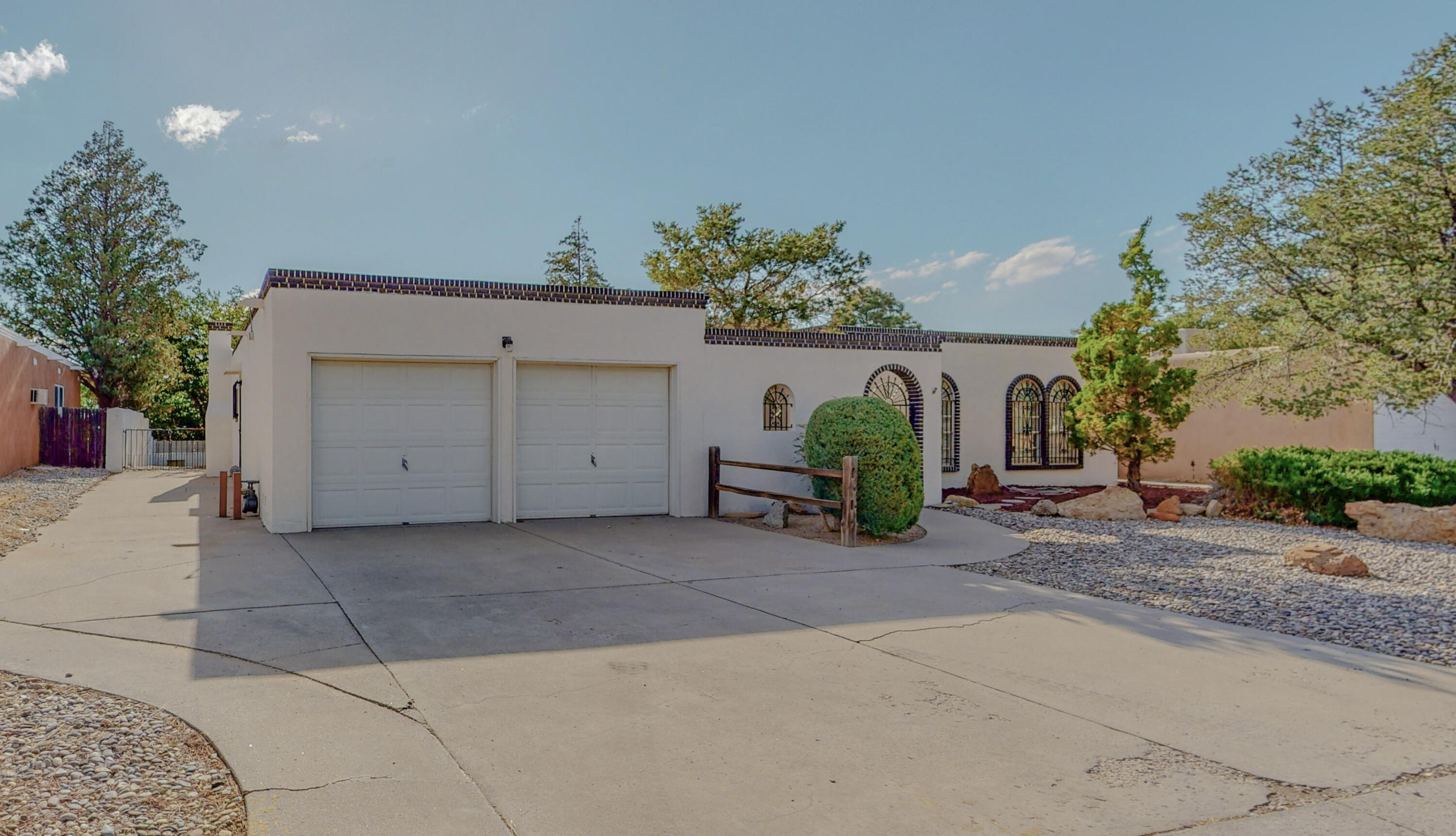 Now is your chance to own an updated legacy home, in the Eldorado school district with plenty of space, refrigerated air and a 2 car garage.  Not to mention, bring your RV for side  and backyard access.  Great size backyard with covered patio is sure to delight for those Summer get togethers or hang out in your front private and secured courtyard!  Newer TPO Roof, fresh paint throughout.  Two living areas, oversized garage, Mud room room for your washer and dryer also features a utility sink! There is also a small office area off the second living area that could be used as a hobby room.  Owner's suite features a walk-in closet and bathroom.  Park only a couple of blocks away, centrally located with shopping, eating and entertainment nearby, don't let this one slip away!