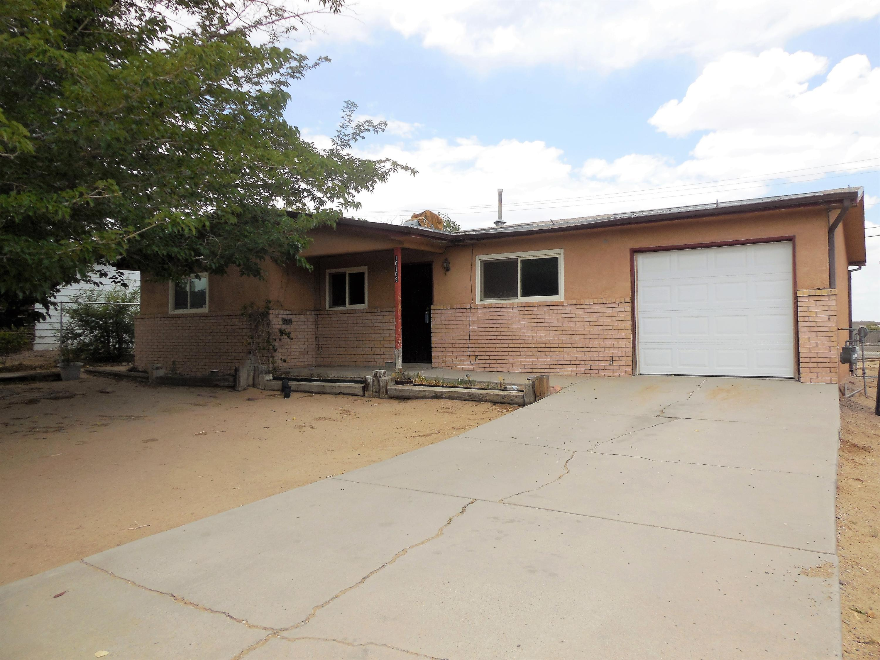 This is a fixer upper with four bedrooms and 1 3/4 baths on a 0.18 acre lot. There is a newer storage shed in the backyard. Home has some  newer and some older windows and security doors front and back.