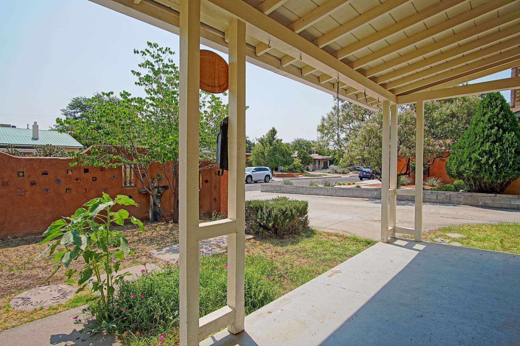 Desirable Home in Altura Park neighborhood.  3 bedroom, 1 bath with a detached CASITA. Main home features wood burning fireplace, refinished original hardwood floors, Newer Metal Roof (2020), updated water heater, heating and cooling units, and freshly painted.