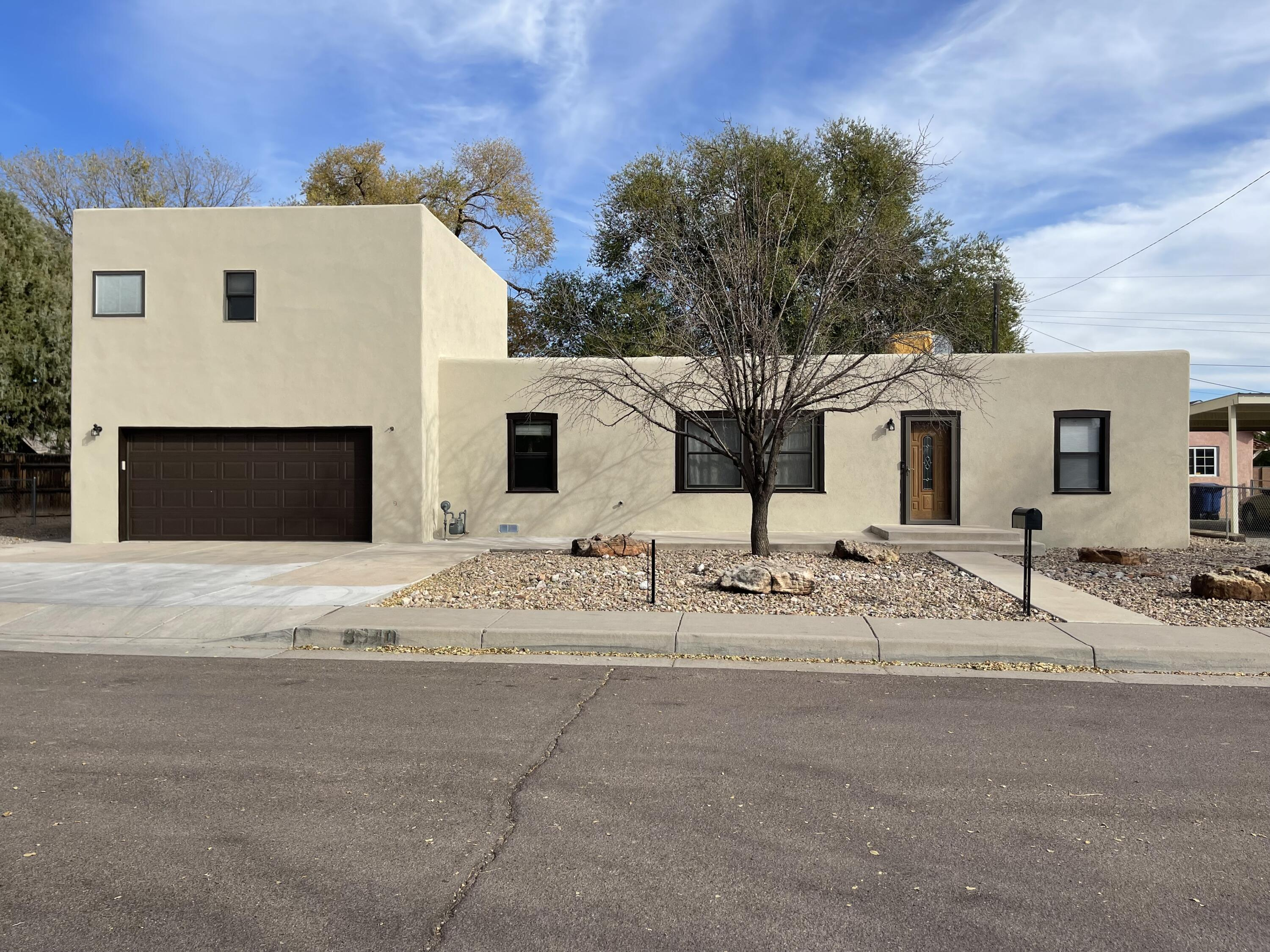 Beautiful home in the north valley at the end of a street!  Split floorplan with a master bedroom, den, and oversized garage in the addition. Layout is designed very well for an older home with a logical flow.  A very private master bedroom with a large on-suite that includes a soaking tub and walk-in shower id the perfect place to relax after a long day. Enjoy the peaceful backyard with irrigation rights to the small channel on the north end of the lot. This one will not last long!
