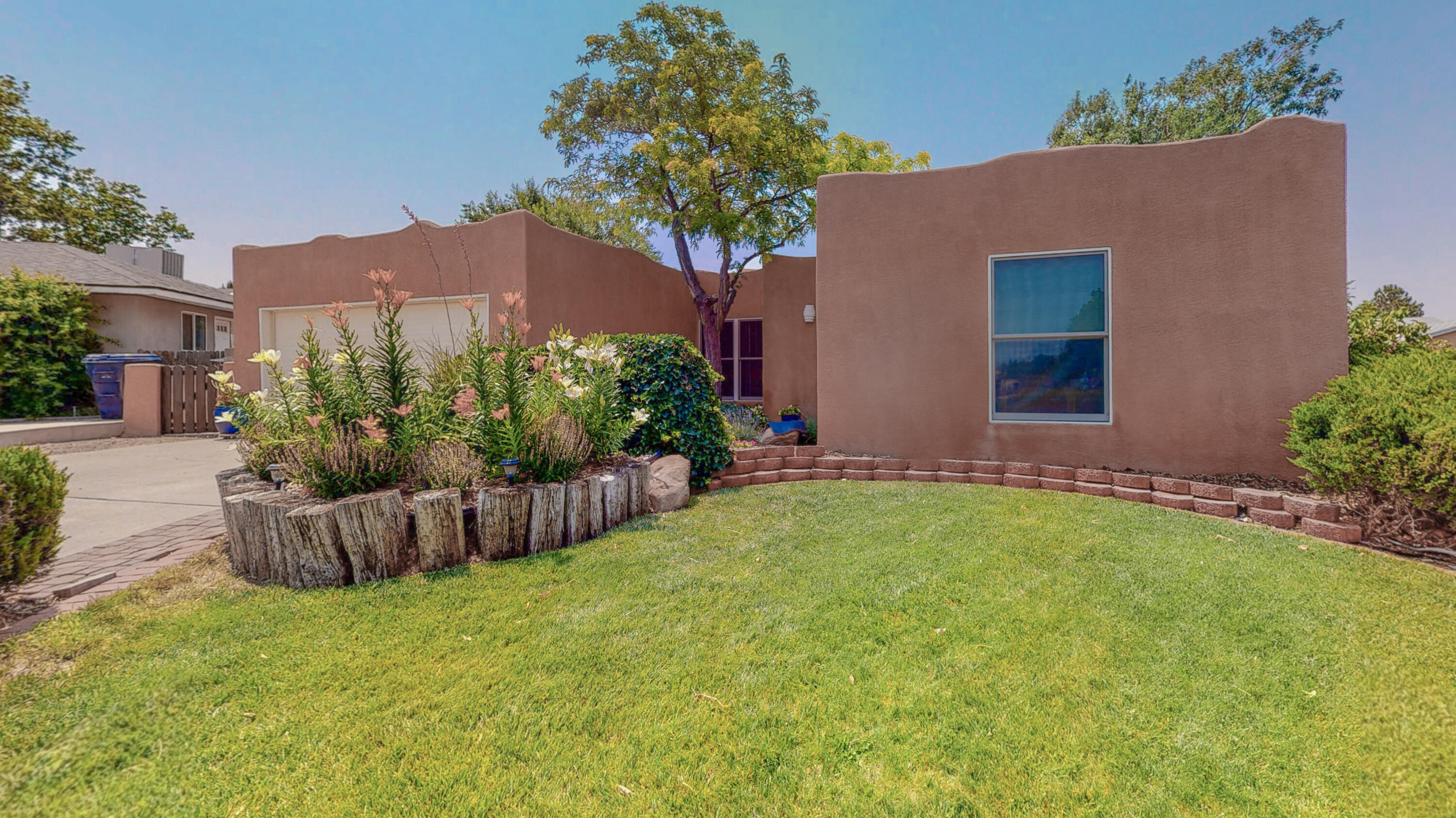 Gorgeous 3 br Brentwood Hills Beauty, all dressed up and ready to go! Formal Dining room, high Ceilings, Family room with cozy fireplace.   You'll fall in love with the updated decor featuring fresh paint, recent bathroom touches  and new Luxury Vinyl flooring in the Kitchen.  Some of the many recent updates include New TPO roof, recent Stucco, Anderson Windows and Security Doors, new garage door and hard-wired smoke detector.  The property features a park-like backyard with lush lawn and gardens. Located on a serene cul-de-sac this casa is also just steps away from the Lynnwood park, complete with Play Ground, Basket Ball Courts and Tennis Courts.   Close to hiking/biking and nature trails.  Walking distance to Brewery and restaruants...  Hurry you don't want to miss out on this one!