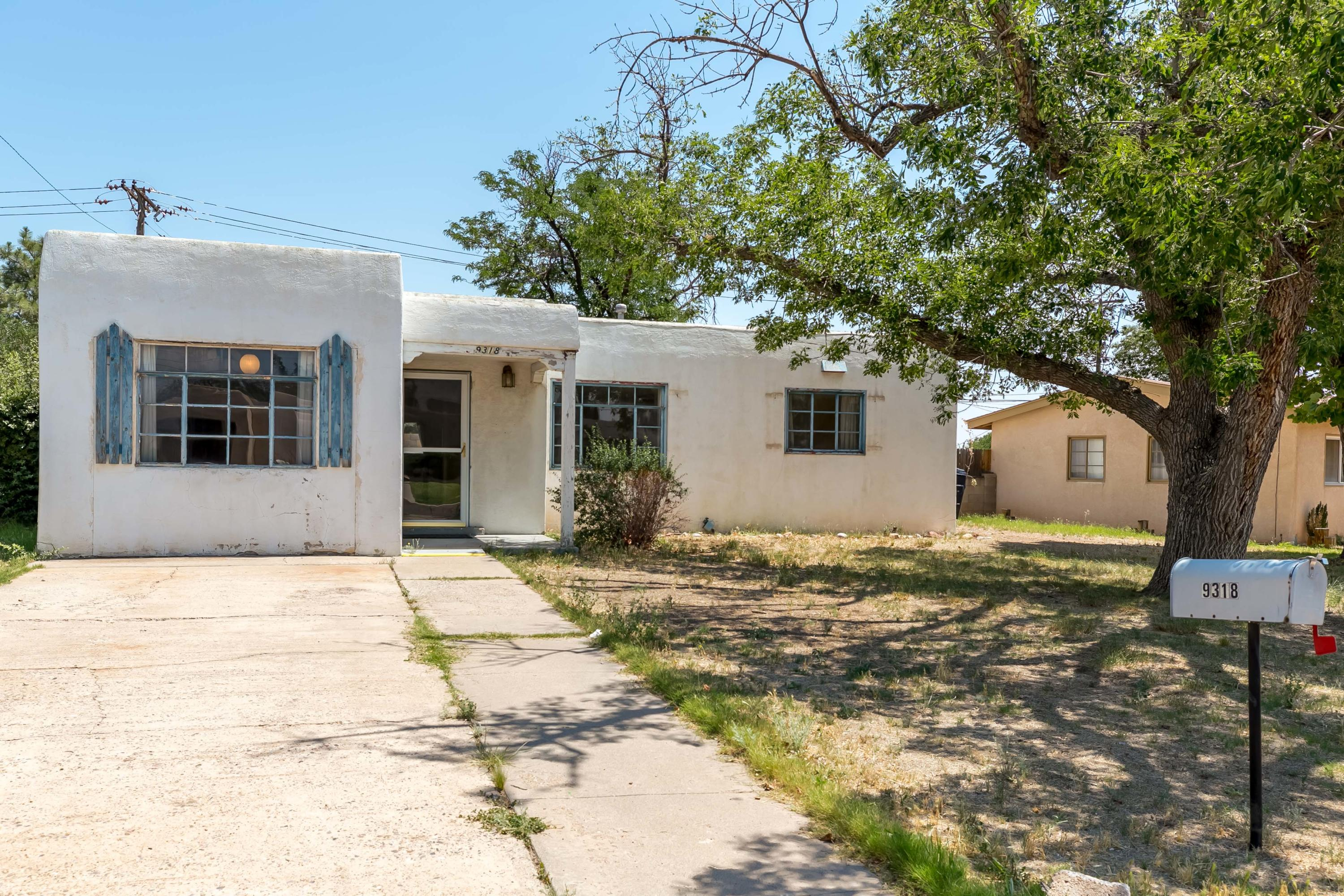 Classic 3 bedroom/2 bath home on large lot in Eldorado School District. Garage conversion allows for two separate living spaces.  Many original features including metal cabinets vintage fixtures.  Refrigerated air system!  Home is part of an estate sale and being sold as it.