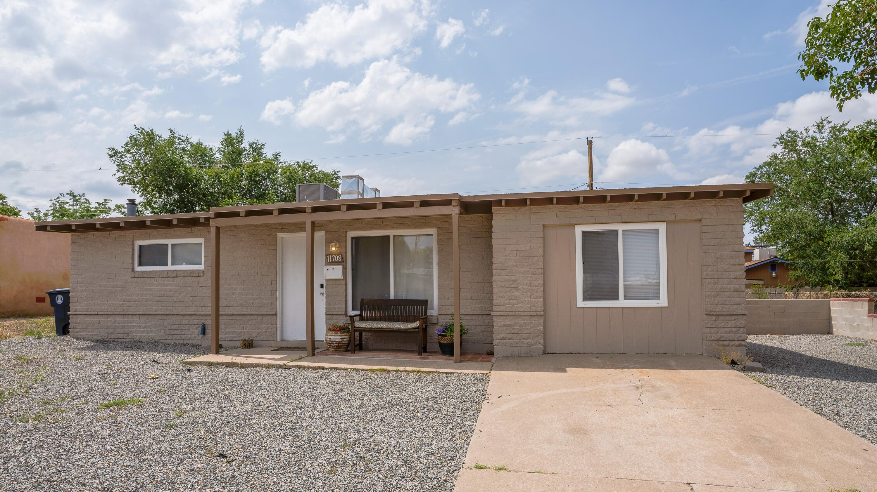 Charming single story, updated home conveniently located close to parks, shopping, freeways and more! Appliances include the refrigerator, dishwasher, microwave and free standing gas range. Updates throughout house include windows, cabinetry, granite counter top in kitchen, heating/cooling unit and flooring. Spacious lot with room to roam. Less than one block away from Jeanne Bellamah Park/Community Center.