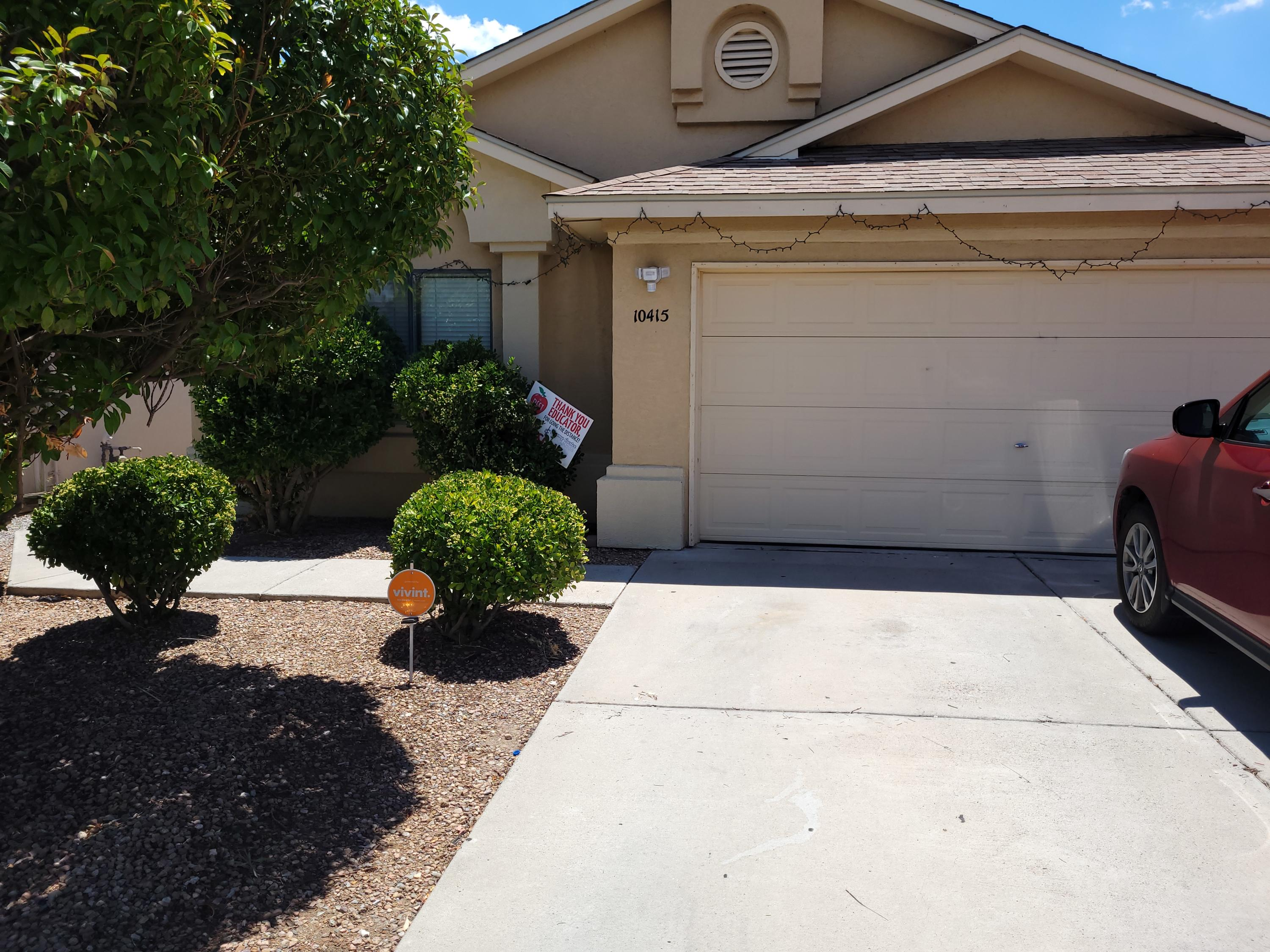Great Starter Home with many upgrades. There is ceramic tile in Kitchen and bath. Landscaped front and back yard. The home has been loved.