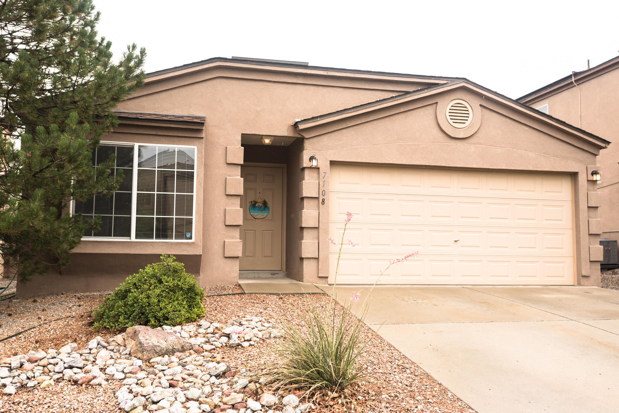 Welcome home! Beautiful single story in very desirable neighborhood with community pool, multiple parks, trails, and quick access to major road Paseo Del Norte. Recent updates include New wood vinyl flooring, new hot water heater and many other updated items.  Great back yard with patio and gazebo.