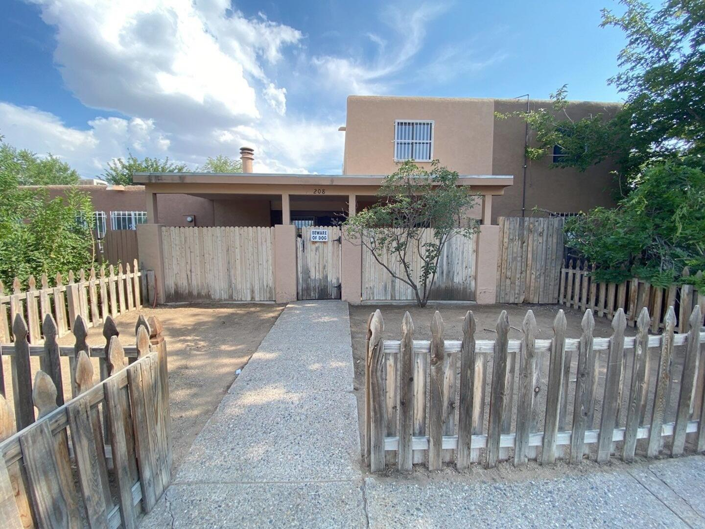 Dont miss out on this lovely two story charmer. Nice and spacious floor plan, open kitchen, kiva fireplace. Make your appointment today because it won't last long.