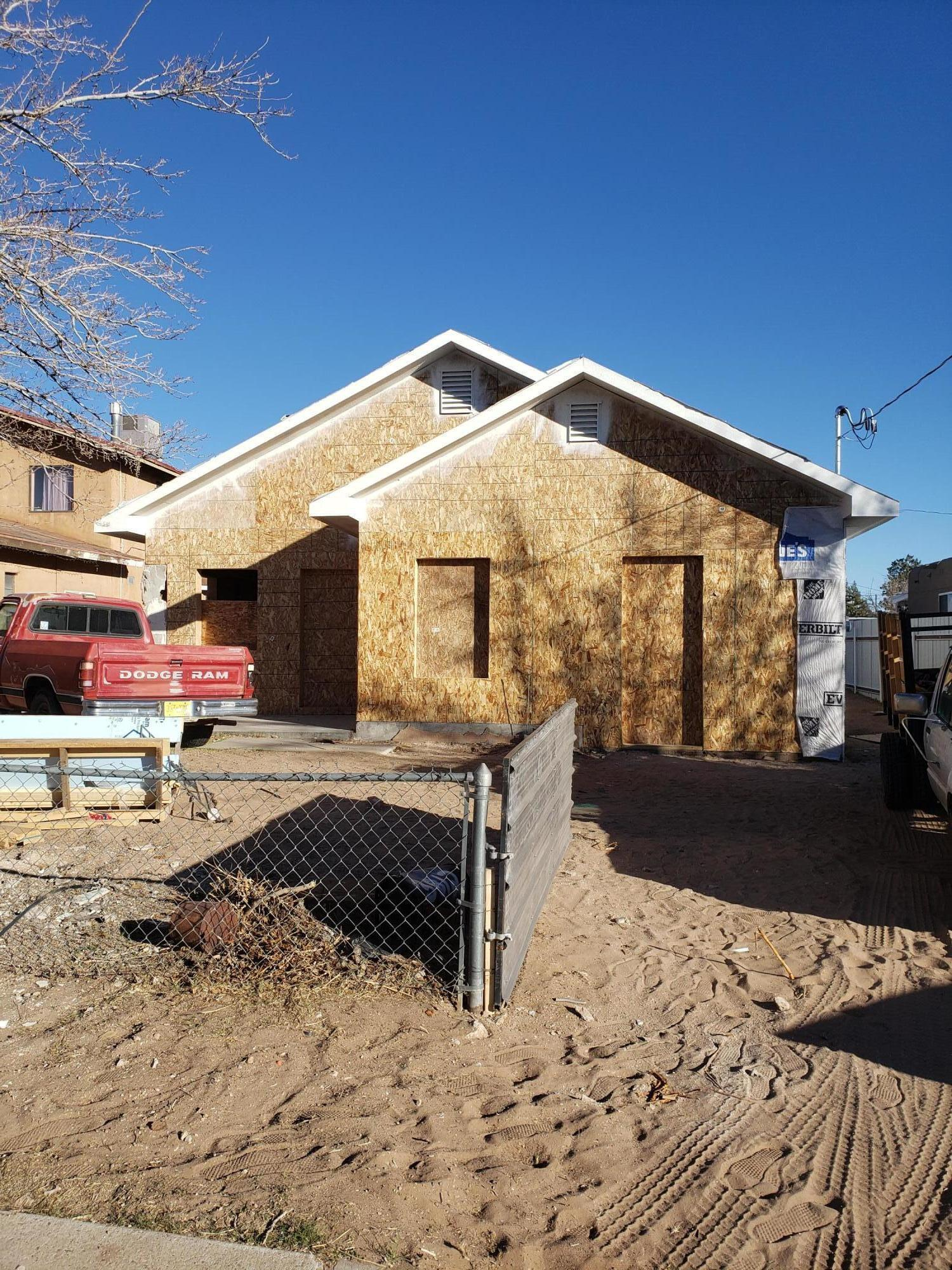 This is a shell. Owner has the plans but has not been able to complete. He is selling as is. Roof has been changed from flat to pitched with attic trusses. Electrical Panel has been updated but house is not wired. Home has been gutted and set up for complete remodel.City Utilities. Easy Commute. Once complete can be a very nice home. ***Please be advised it is a construction zone enter at own risk*** ***Seller is Related to Listing Agent***