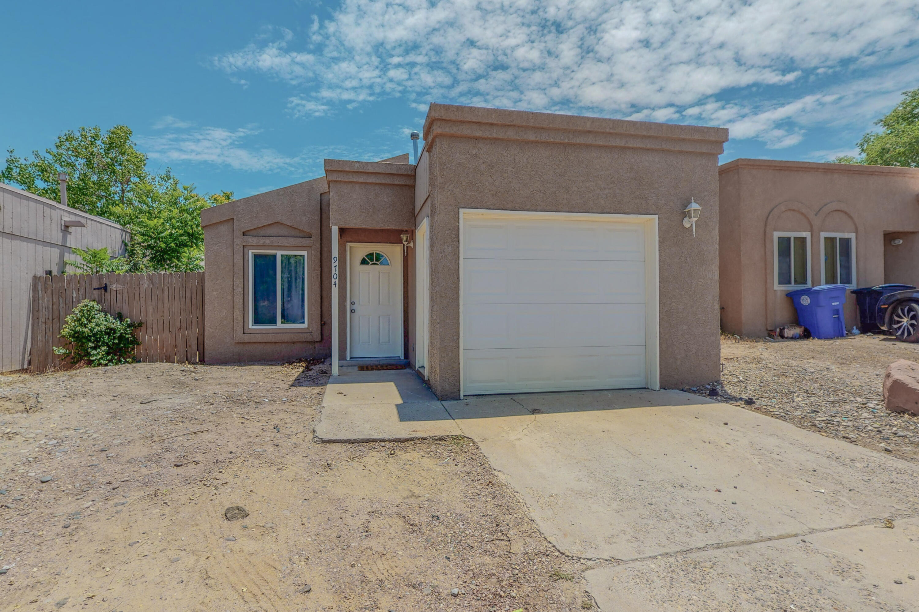 Two bedroom, one bath home.  New carpet in bedrooms, tile floors in main areas.  Washer, Dryer and Refrigerator will convey with purchase.  This one is move in ready!