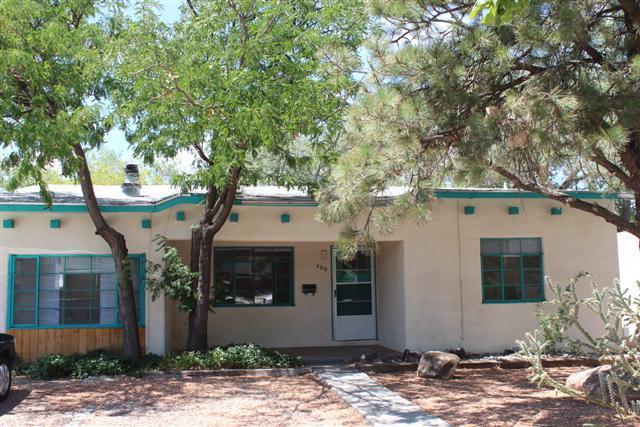 Sweet UNM Rental property! Cove ceilings and arched doors ways All the original charm! Newer roof. cfa, coolers. mini-split system for heating and cooling! Very cute/ always rented! Awesome area and love the neighbors and the neighborhood. Awesome back patio area for BBQ gathering. Separate shed, for storage. 3 bdrms  baths.  Inlaws quarters. Charming