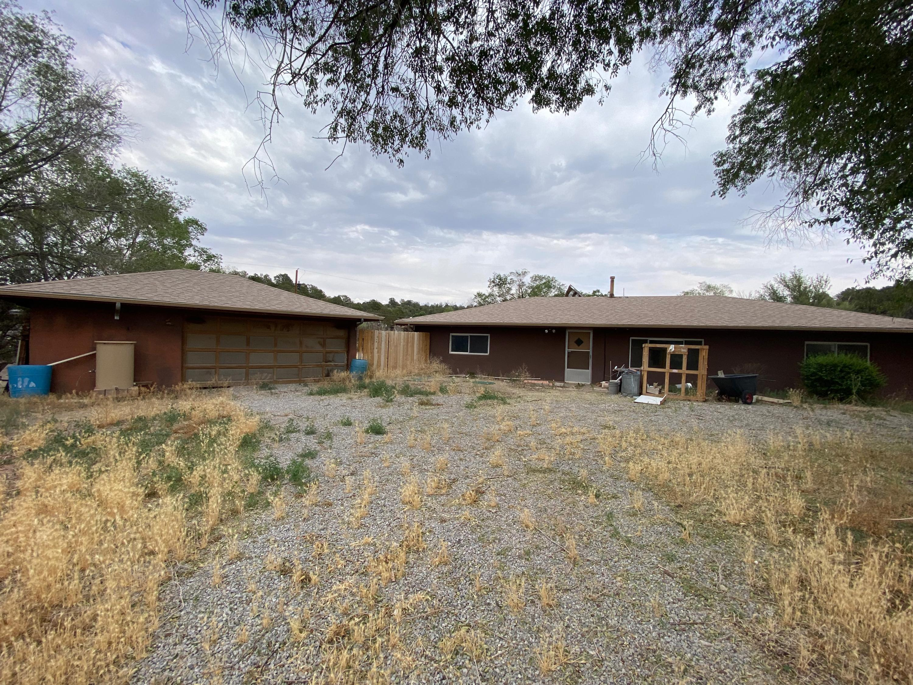 This property has begun a remodel and is currently down to the studs and ready for you to finish it to your own desires.