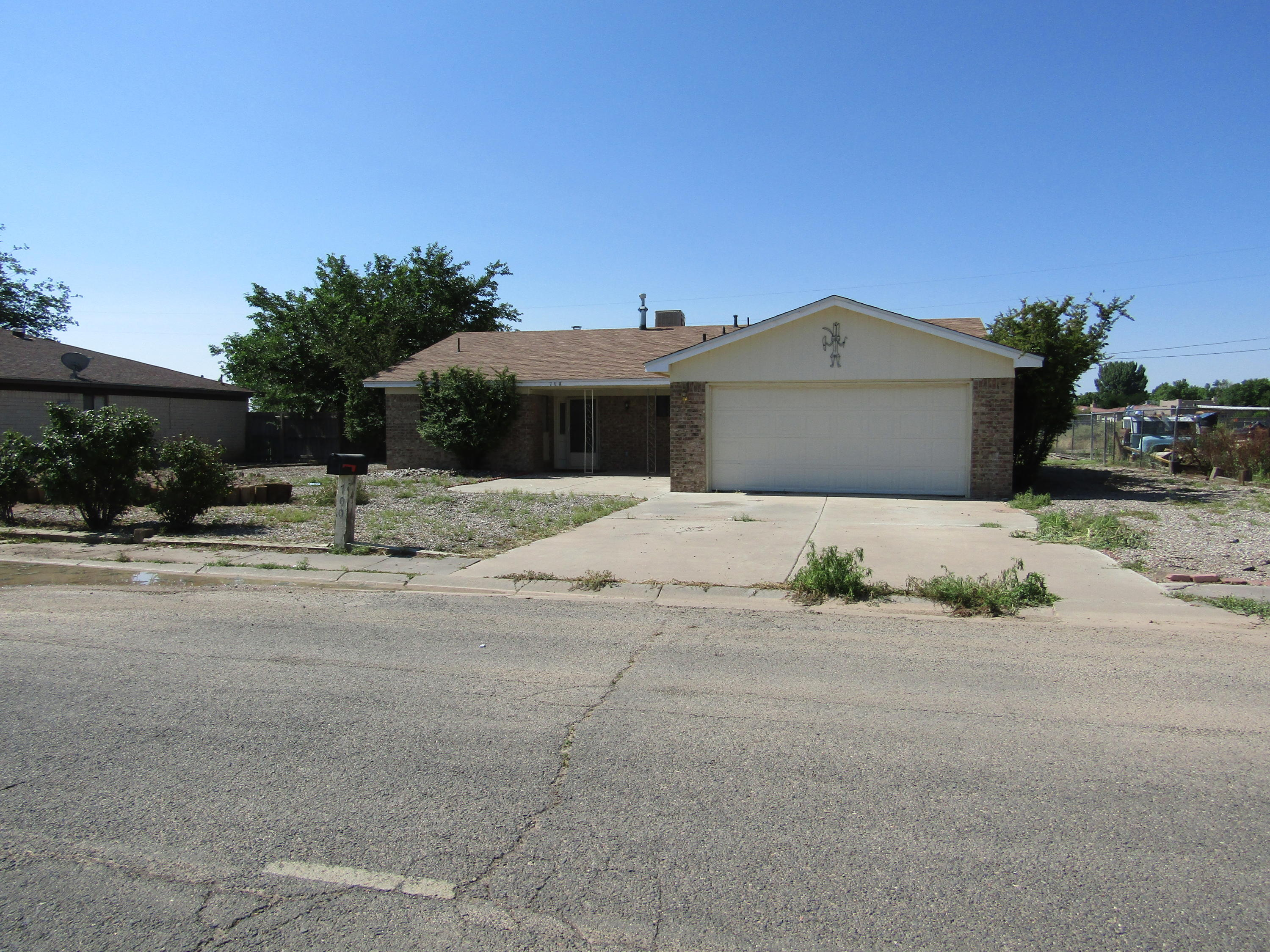 Adorable 3 bedroom home close to NM Tech. 2 full bathrooms, large fenced backyard, front yard landscaped, carpet and roof installed summer 2020, open kitchen, double closets.
