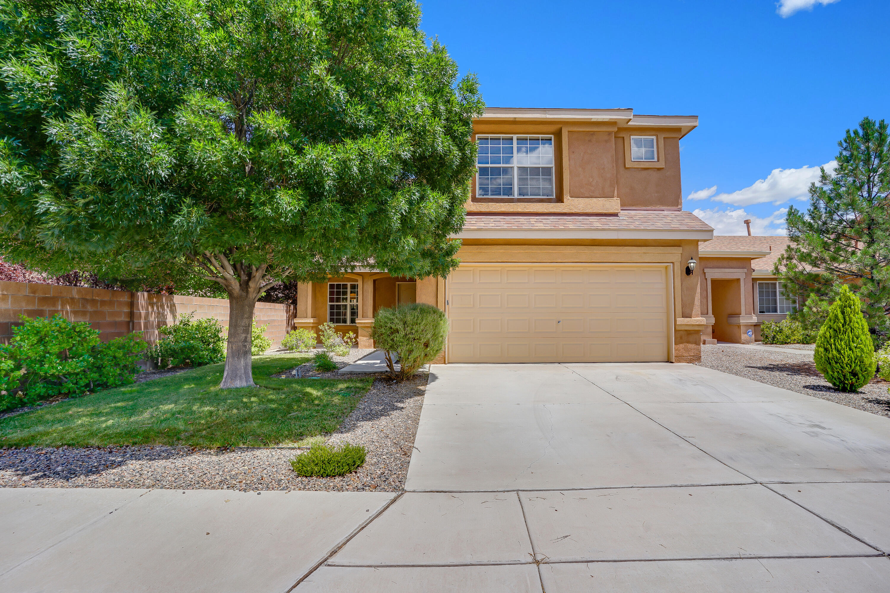 Welcome to this lovely Pulte home in Ventana Ranch.  Recently updated with modern wood like tile, and newer windows and doors.  This home features a nice open kitchen with great storage, a spacious living area, and a loft upstairs which could make an additional living space, workout area, or office space.  Master suite is very spacious and features a nice master bathroom and walk-in closet.  You'll love the big backyard with a covered patio, low maintenance xeriscaping and a nice storage shed.  Come see this one today.