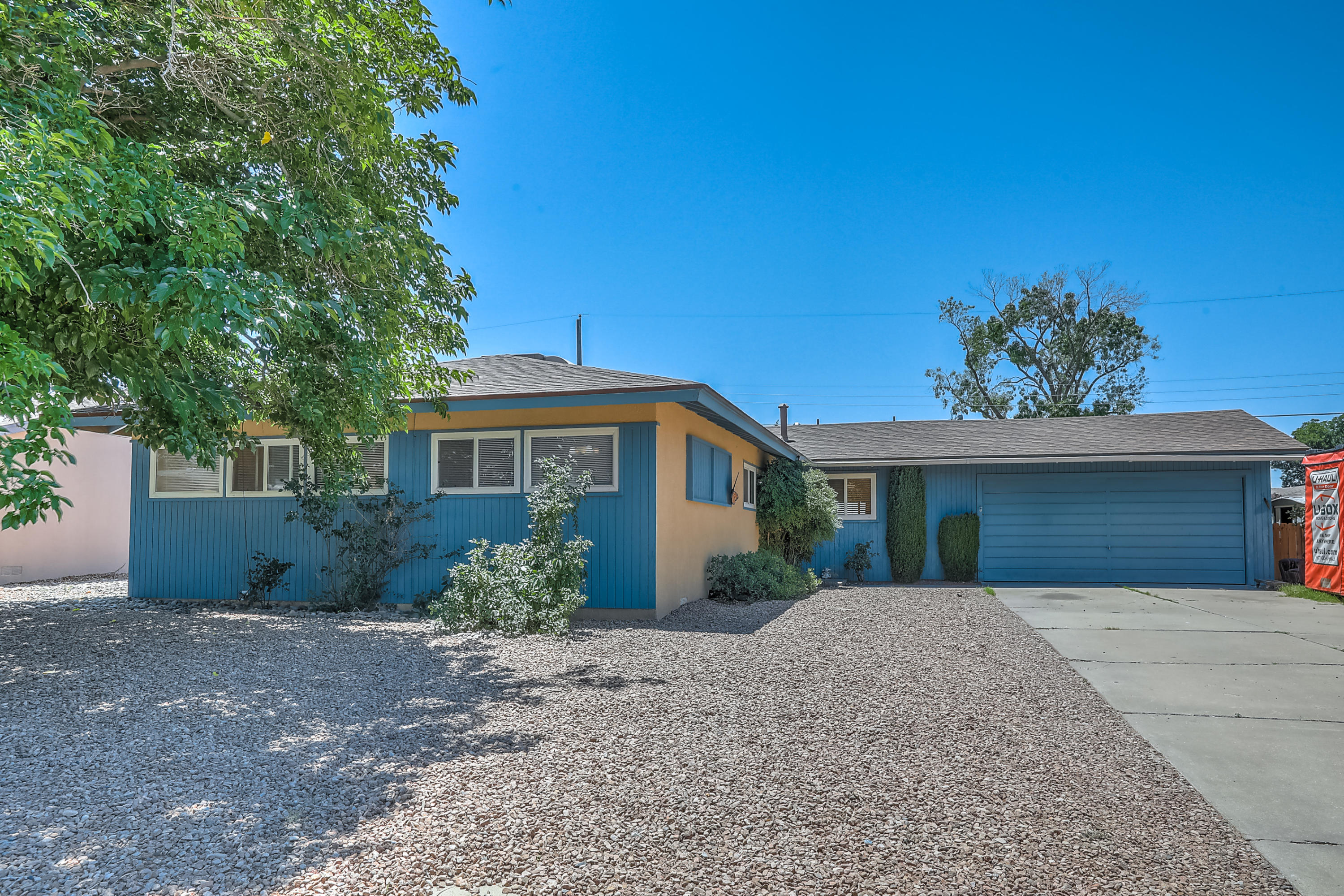 Come take a look at this beautiful 3 bedroom, 2 bathroom house in northeast Albuquerque. Multiple living and dining areas. Wood flooring in living room and bedrooms. Large driveway along with the garage. Roof was done within the last 3 years. Mastercool within the last 5. This won't last long!