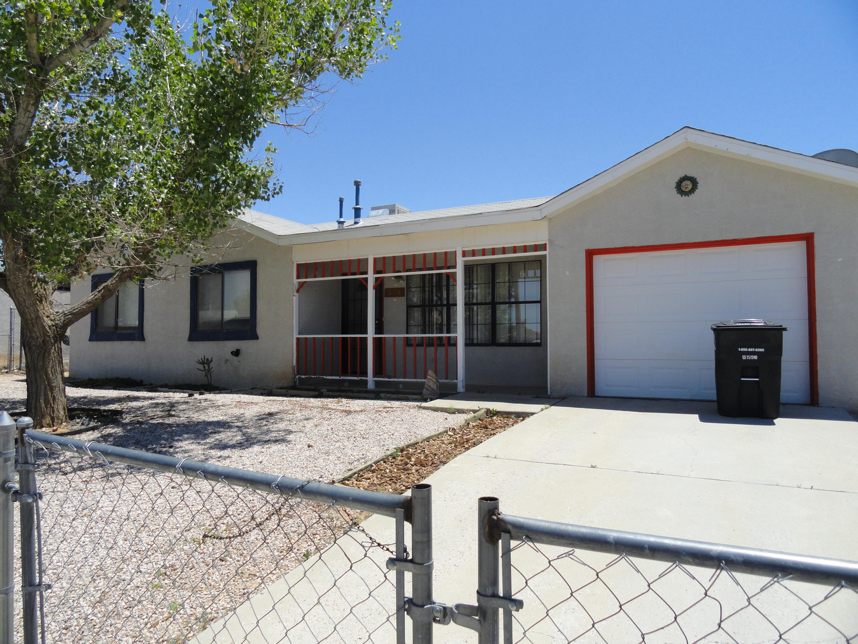 Adorable home near Tierra Del Sol Golf Course. Come see this move in ready home in Rio Communities. 3 Generous bedrooms, 1 and 3/4 baths located on a huge corner lot. Fenced, cross fenced and offers double gated back yard access. New roof will be completed soon!