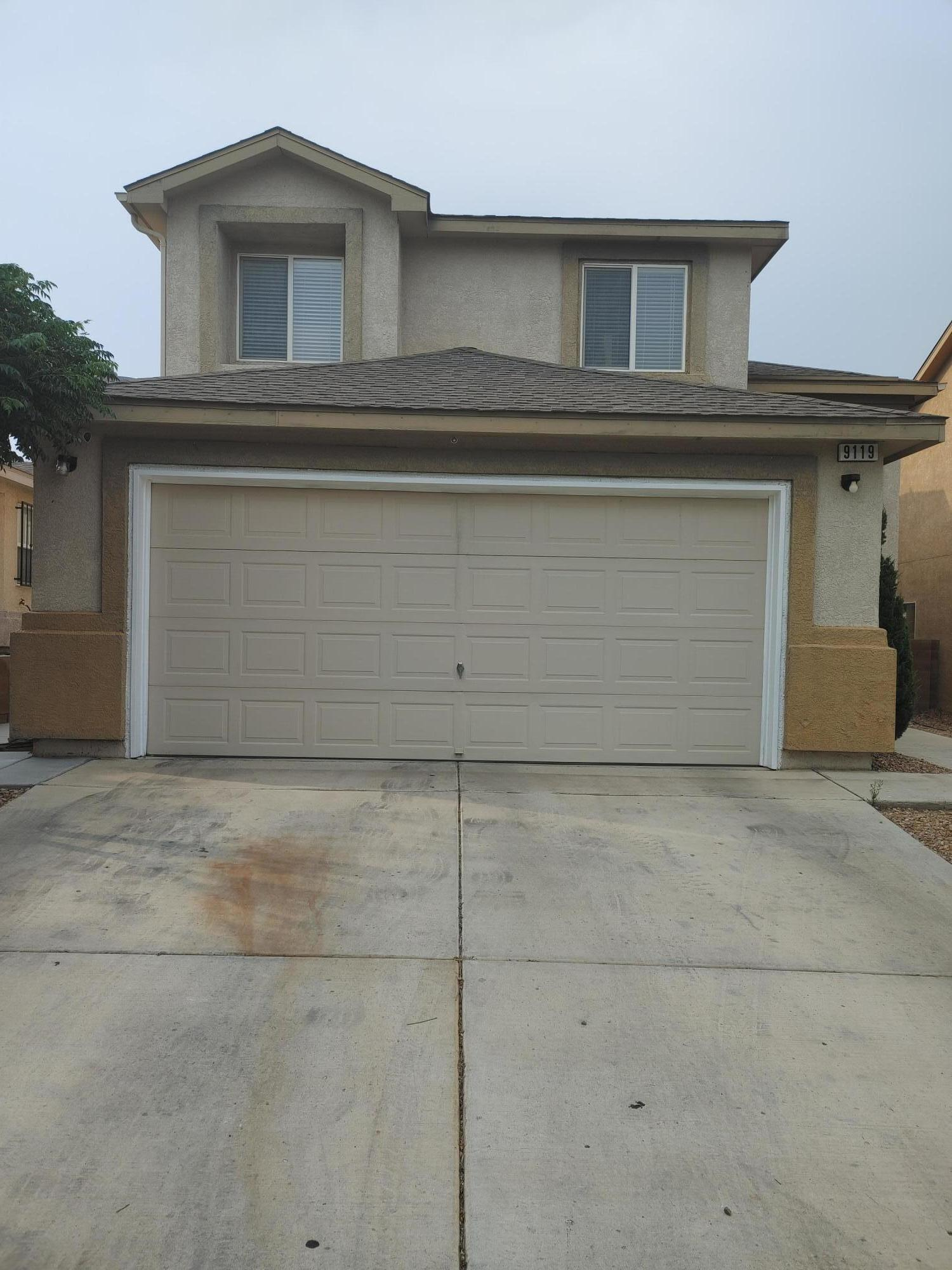 Pride of ownership beautiful 2 stories  home ,Open floor plan  living room cozy family room with fireplace 3 - 4 bedrooms 2.5  (4th bedroom can be easily converted ) ,2 A/C units.Over $40,000 in upgrades newer paint, laminated flooring  remodeled kitchen cabinets and countertops.Cozy gazebo and beautiful fountain for family gathering.
