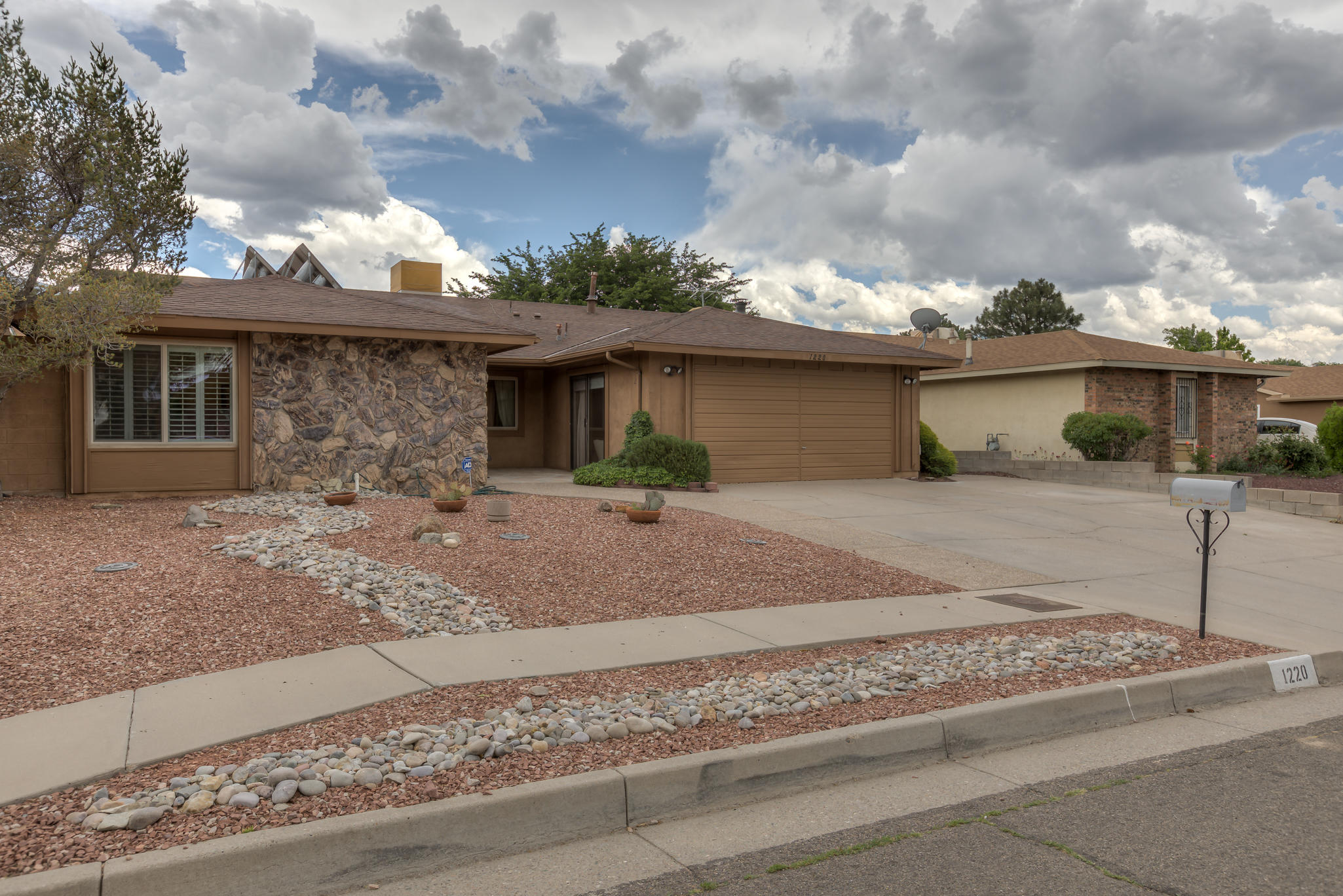 Entertainers Delight ! This well cared for single story home is located in a desirable Northeast heights neighborhood. The tastefully updated kitchen includes newer cabinets,tile flooring,extended pantry, track lighting and granite countertops with a eat in bar that opens to the den.The den has a pellet stove insert, plantation shutters and view of the pool recreation area. The good sized master bedroom has a bath that was remodeled a few years ago. There are private living spaces for everyone.The roof was replaced in 2020, the pool has been maintained every year. A new filter replaced 2020 and pump was replaced in 2019. Do not let children in the backyard alone as there is a pool ! Seller offering up to $5,000 CC/prepaids with accepted offer & closing.