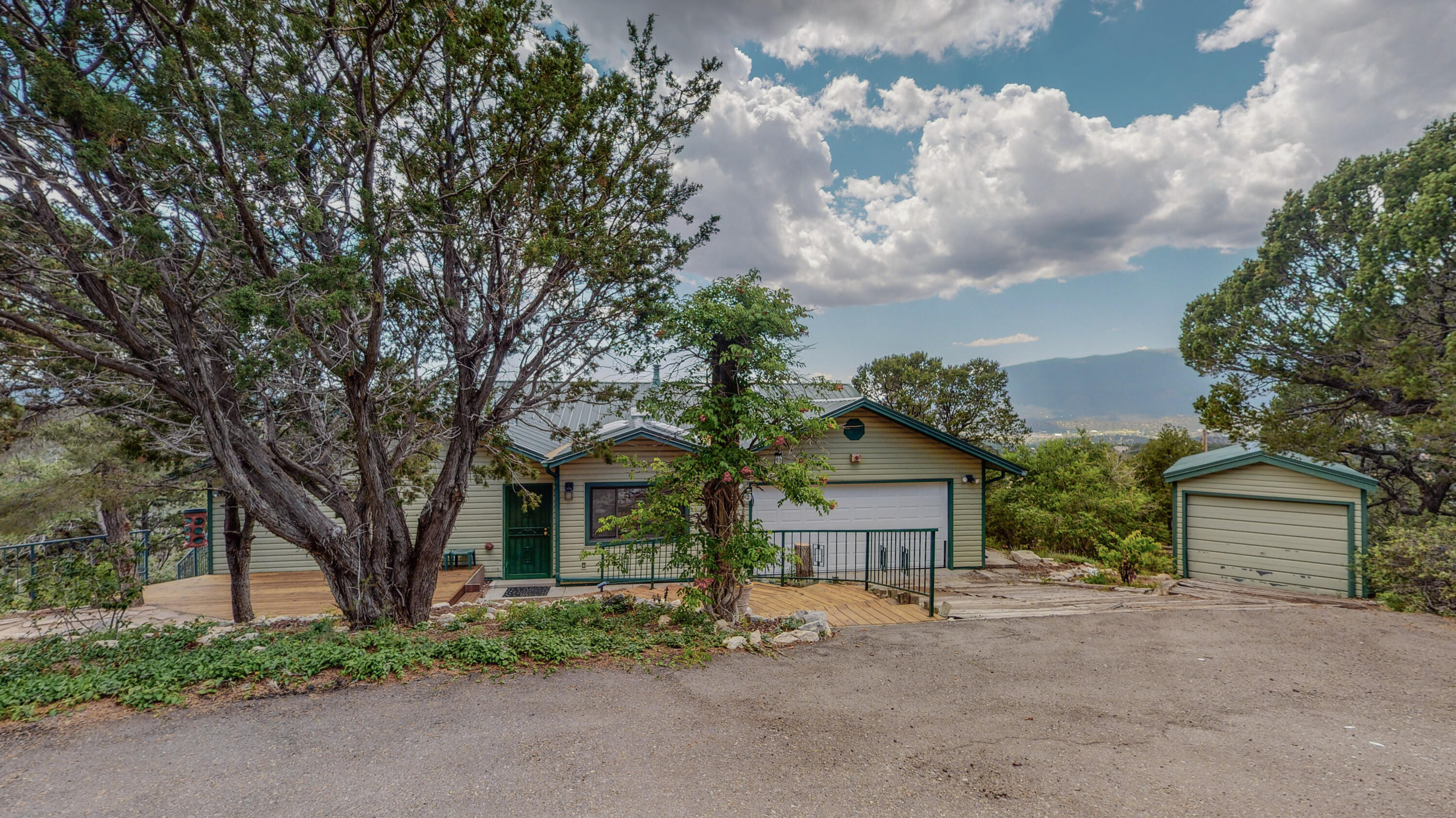 Property is an estate sale.  Work on the inside is being finished up. Metal roof put on in 2019, new well pump 2020, there will be new flooring in entire home, all window glass has been replaced, all interior has been repainted and decks refurnished.  Home has a spectacular view of the west valley and sunset.  It is a 3 bedroom, 3 bath with a separate office and dining area.  Granite counter tops in the kitchen.  Home is spacious with an easy flow floorplan that has a back deck the length of the home for great entertainment or just relaxing while enjoying the view.  Don't miss out on this one.  Schedule your showing today.Professional photos will be done once all the work is completed.