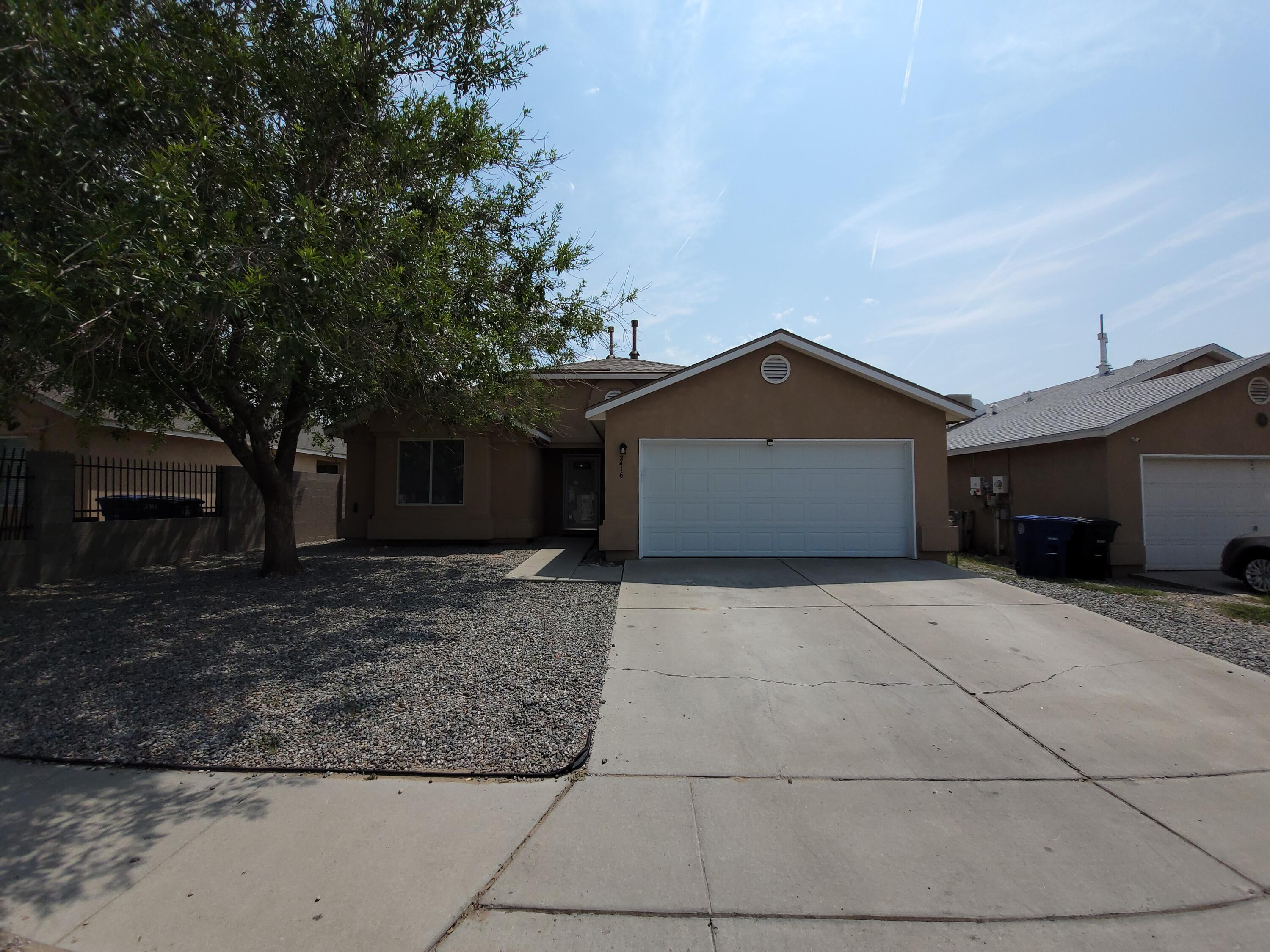 This Home is in a great Neighborhood, It is remodeled with a new high end roof cabinets, tile and carpet. This great house has 4 bedrooms,2 full bath rooms and Vaulted ceilings. It has a very open kitchen with granite countertops and upgraded bartop with view of entertaining room. A nice walled private back yard to bar b que with the family and enjoy the eastern views. You will enjoy this open floor plan.