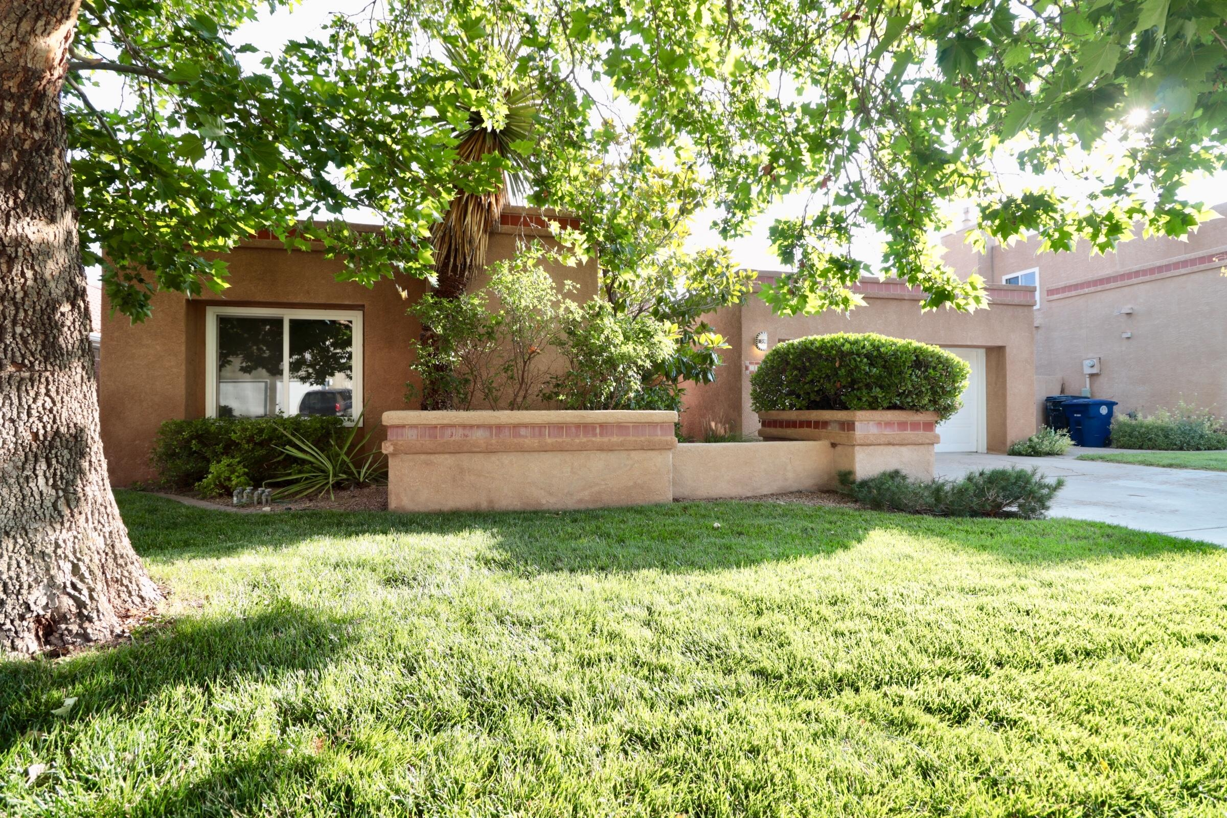 Phenomenal location! Beautiful, light and bright home situated in a mature neighborhood tucked into a cul-de-sac! This beautiful home offers  refrigerated air, 3 bedrooms, 2 full bathrooms, and a lovely updated kitchen with newer appliances, granite counters, built in hutch and lots of storage. The back yard has mature landscaping and an outdoor fireplace/pit area for everyone to enjoy. Carpet installation is still in progress, professional photos to follow by Aug 6th.