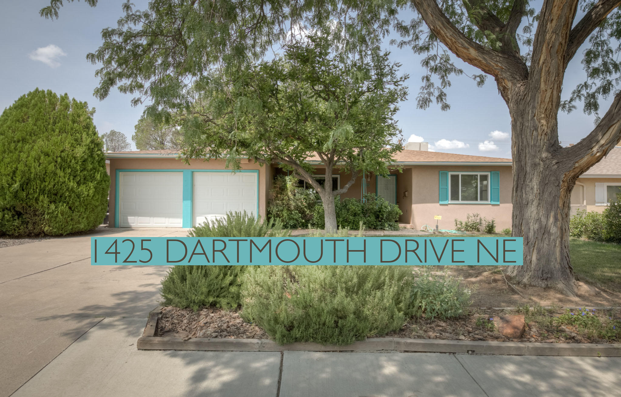 Well maintained Ranch in prime UNM location! Light, bright, white kitchen with all appliances, gas cooktop stove, vent hood, and trash compactor. Original hardwood floors shine throughout. Installed Alarm system, Brand new roof in 2019! 2 Living areas, one with cozy fireplace and built in storage. The large sunroom is flooded with natural light from French doors leading out to the spacious wooden patio. Private, walled backyard with planter areas and mature trees. Oversized 2 car garage with tons of storage. Close to Law and Med Schools, Summit and Netherwood Parks and UNM North Golf Course.