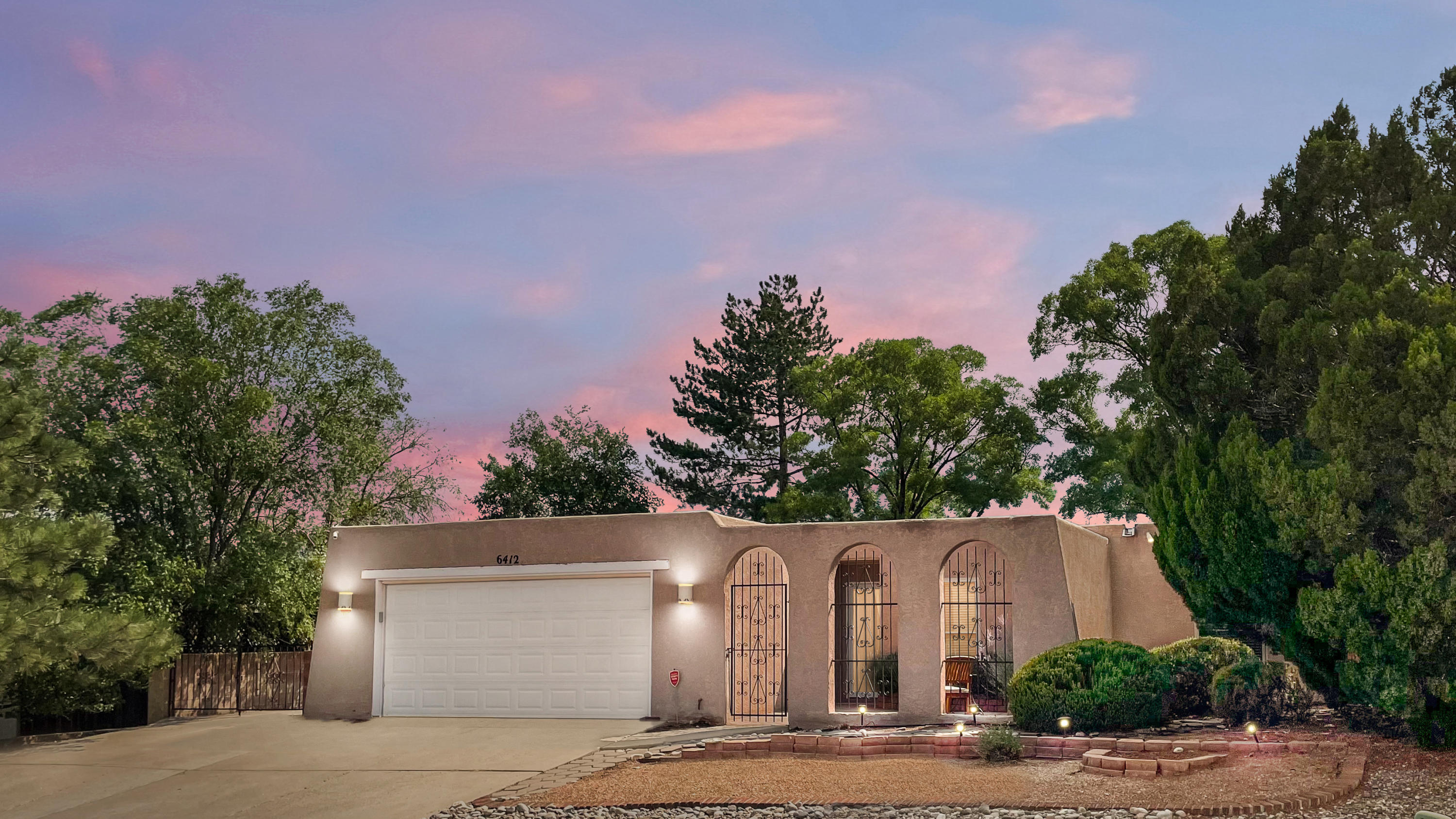 Great opportunity to have a wonderfully maintained home in Academy Hills. This house is fresh inside, with new carpeting and updated kitchen, and refrigerated AC!  Extremely convenient to all that is wonderful about this corner of Albuquerque. Don't miss out!