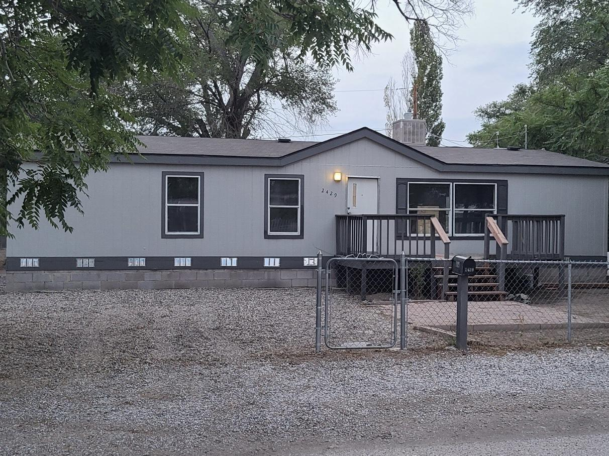 Don't miss out on this house!! Manufactured home on permanent foundation, 3 bedroom 2 bathrooms with great size yard. This home is in a great neighborhood near everything.