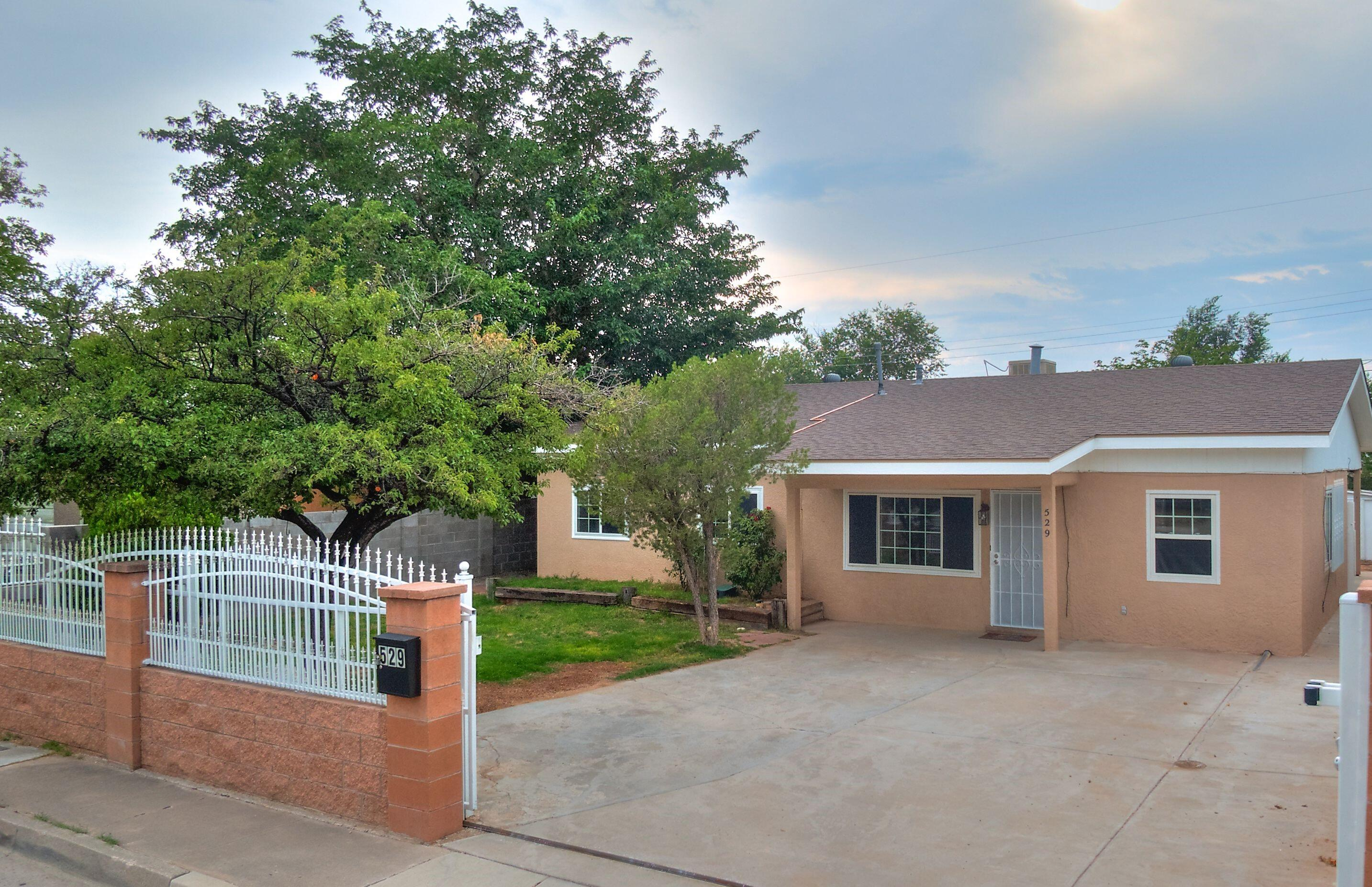 This property truly stands out ! You feel the love and pride of ownership the moment you walk in the front door. Your new home has a abundance of upgrades which includes new kitchen cabinets, stainless steel appliances,  remodeled bathrooms, new stucco, updated windows, roof replaced in 2019, updated tile thru out the home, updated paint, new water heater, rod iron fencing for privacy, and much more!