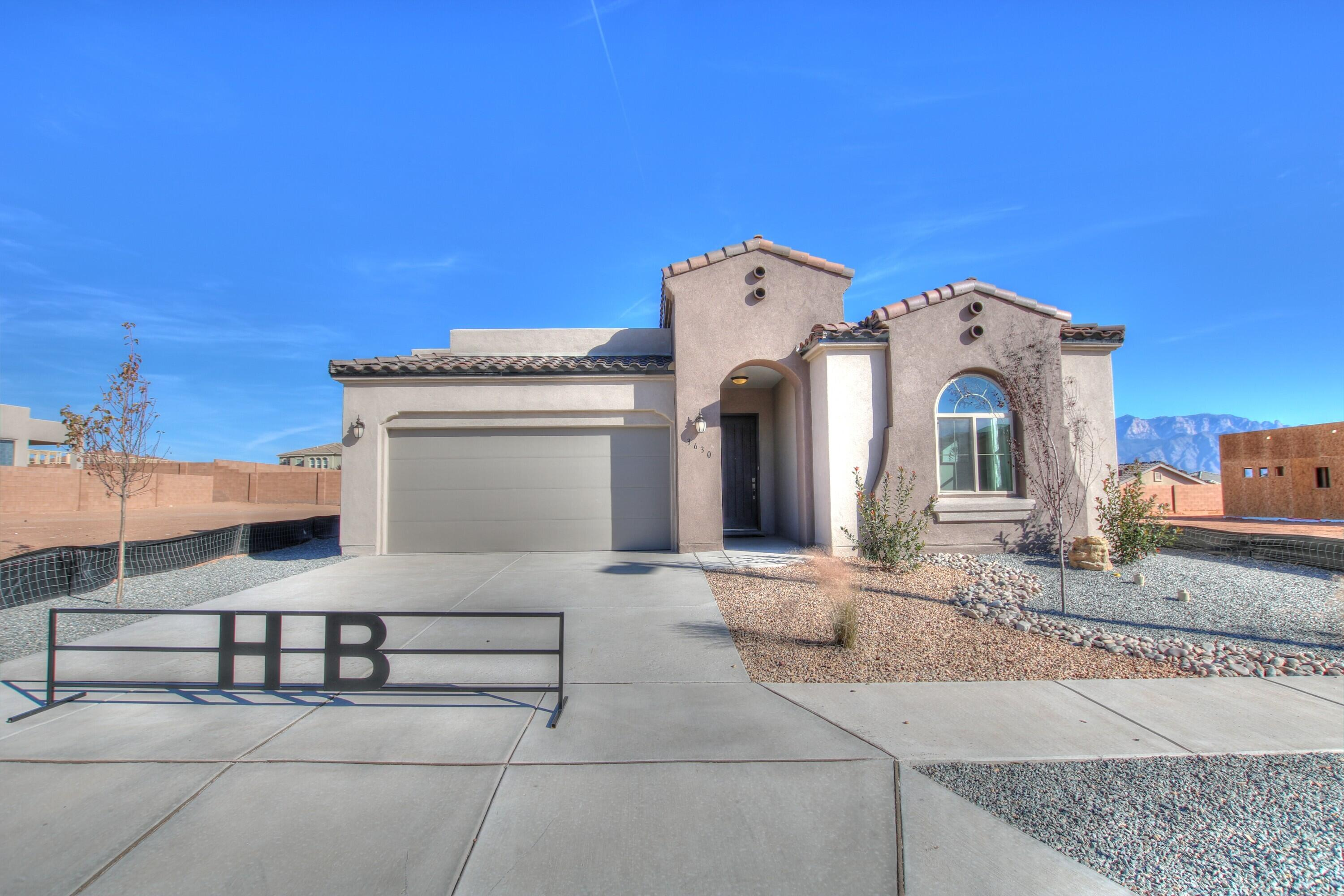 4 br 2.5 bath 2 car garageTiled fireplace, gourmet kitchen with farm sink, upgraded kitchen granite, 8' doors, upgraded tileEstimated completion 01/01/2022(photos are not of actual home but represent the floor plan)