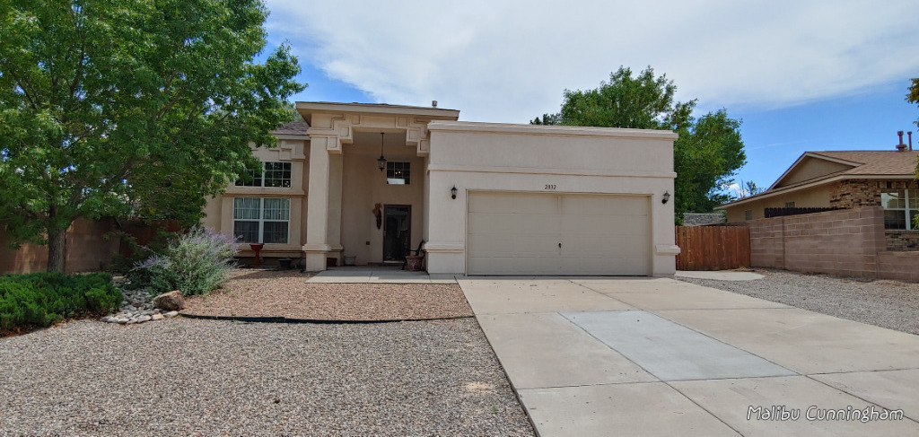 Back on the market!!! Move in ready!!! Beautiful, bright home. Downstairs master bedroom with access to sun room. New HVAC system installed in 2018. Beautiful granite kitchen countertop and backsplash, along with white all wood cabinets. New electric oven and microwave installed in 2021. The backyard is a park like setting with many shade trees, patios, 2 pear trees and grape vine. The backyard sprinkler system was updated in 2021. Backyard walls have been updated to 6ft for privacy. Many areas for planting a true gardener's delight! Spacious garage. New roof being installed 10/2021.  Buyer to verify square footage.  Supra box located on gas meter.