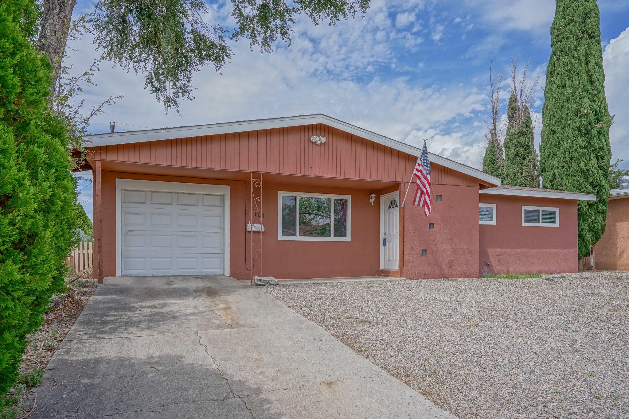 Location, location.  Come and see this beautiful and charming 3 bedroom, 2 bath home with open living room and connecting kitchen. Spacious backyard with covered patio.  Schools, restaurants, and many more amenities only minutes away.  Access to Interstate 40 nearby.  Call today and schedule your appointment.  This home will not last.