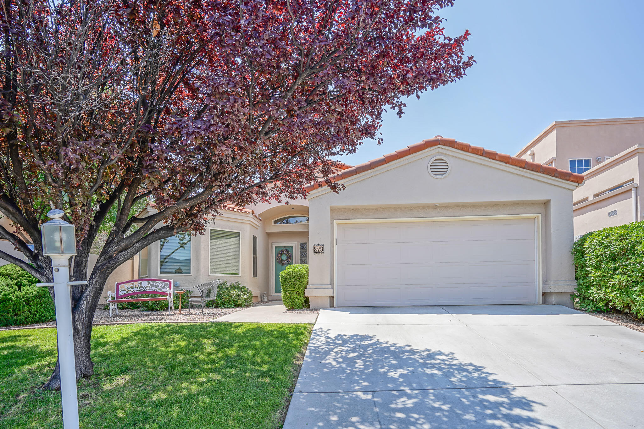 Great location in this quiet neighborhood tucked in by Four Hills. This well cared for home offers high ceilings, lots of updates & a private & shady back yard & patio. You'll love the fireplace focal point with beautiful Variance finish. Great views of the mountains from your breakfast nook. Spacious master bedroom & bath with double vanity & a jetted tub. Numerous updates in 5 years to include new Renewal by Andersen windows throughout in 2020, new driveway 2020, new gutters 2021, new furnace in 2015, & a new air conditioner in 2016. In the past 5 years: all new SS kitchen appliances, luxury vinyl in all but the master bedroom, extended patio, custom draperies, new kitchen backsplash & tile flooring. Great neighborhood & easy access to I40  & shopping. This one won't disappoint!
