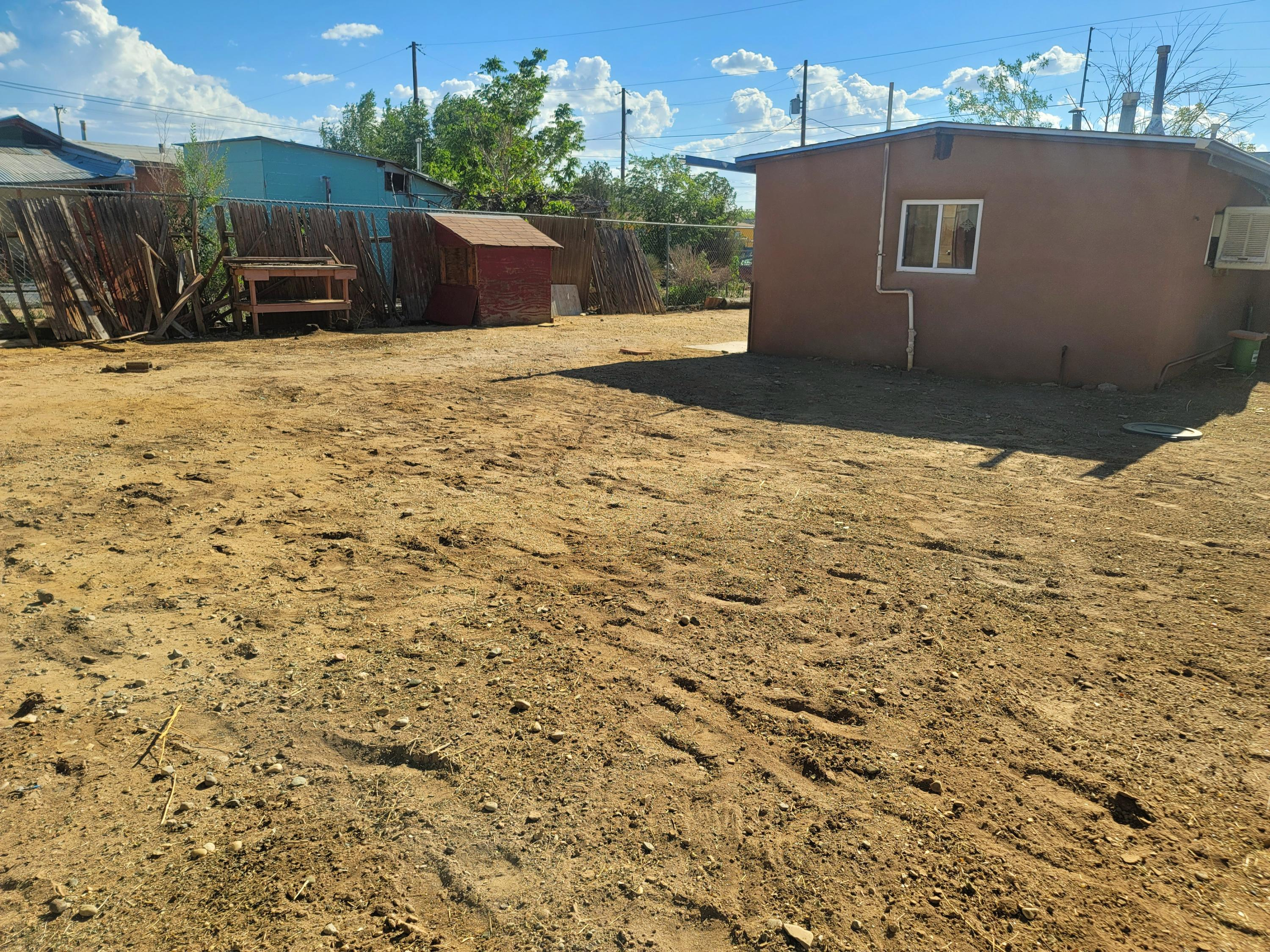 This 2 bedroom 1 bath is an Investor dream! Great location in Northwest Albuquerque. Nice big lot, ready for some TLC to make this house into your next HGTV home! Schedule your appointment today!