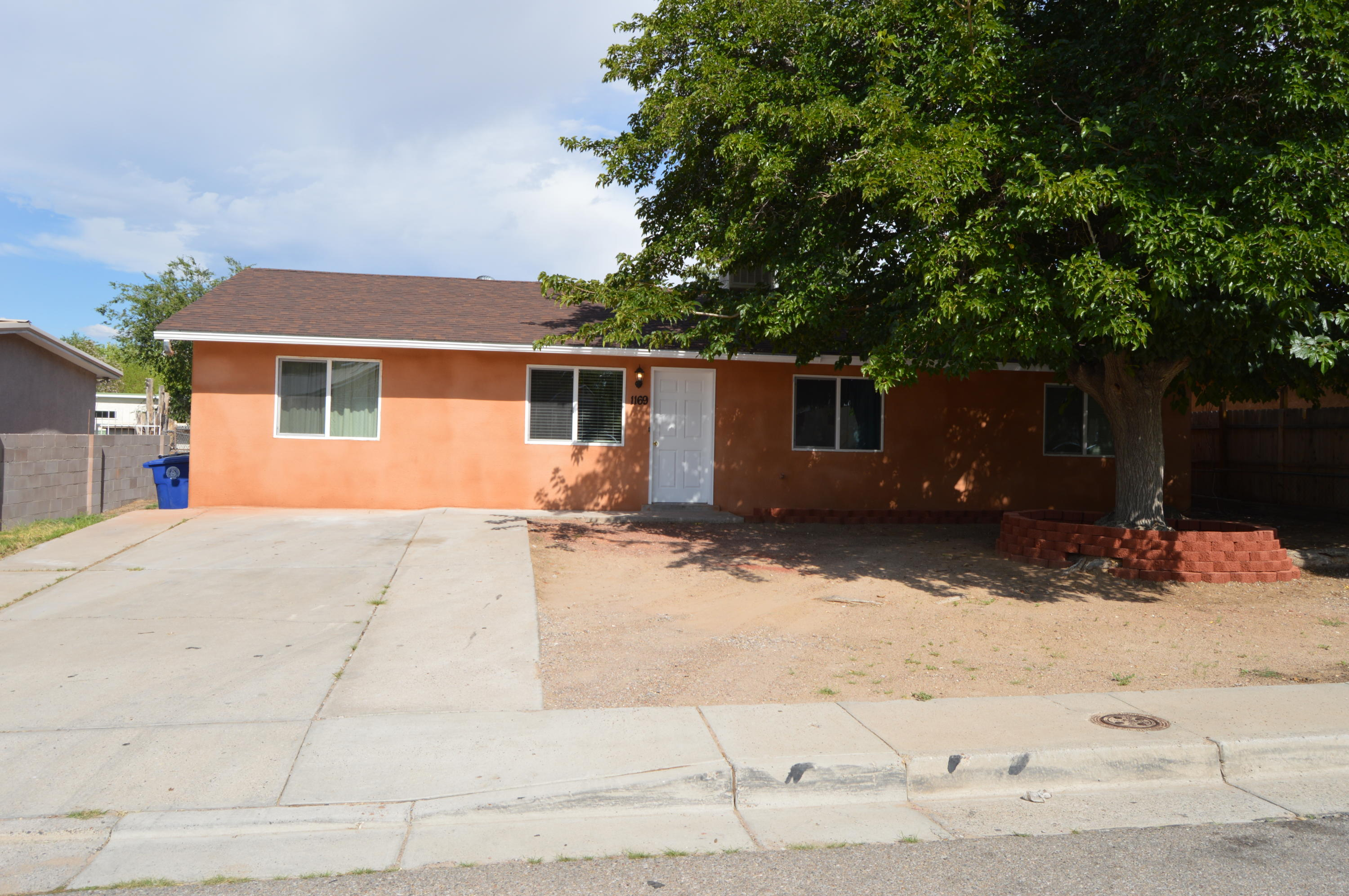 Westgate Heights,  Home features  4 bedroom, 2 bath, 4th bedroom could also be a secondary living area.  Recent upgrades done in 2021 :  roof, vinyl double pane windows,  bathrooms, furnace, evaporative cooler, window blinds, fresh paint. Open patio, back yard access, views,