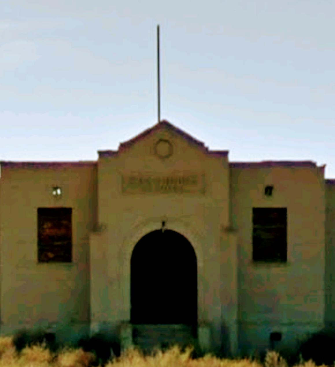 This is your opportunity to buy a piece of history , being the old Escondida School House.  Adjacent property is an old adobe structure needing TLC to be used as a primary residence.  Mother-in-law quarters behind primary residence, also needing TLC.