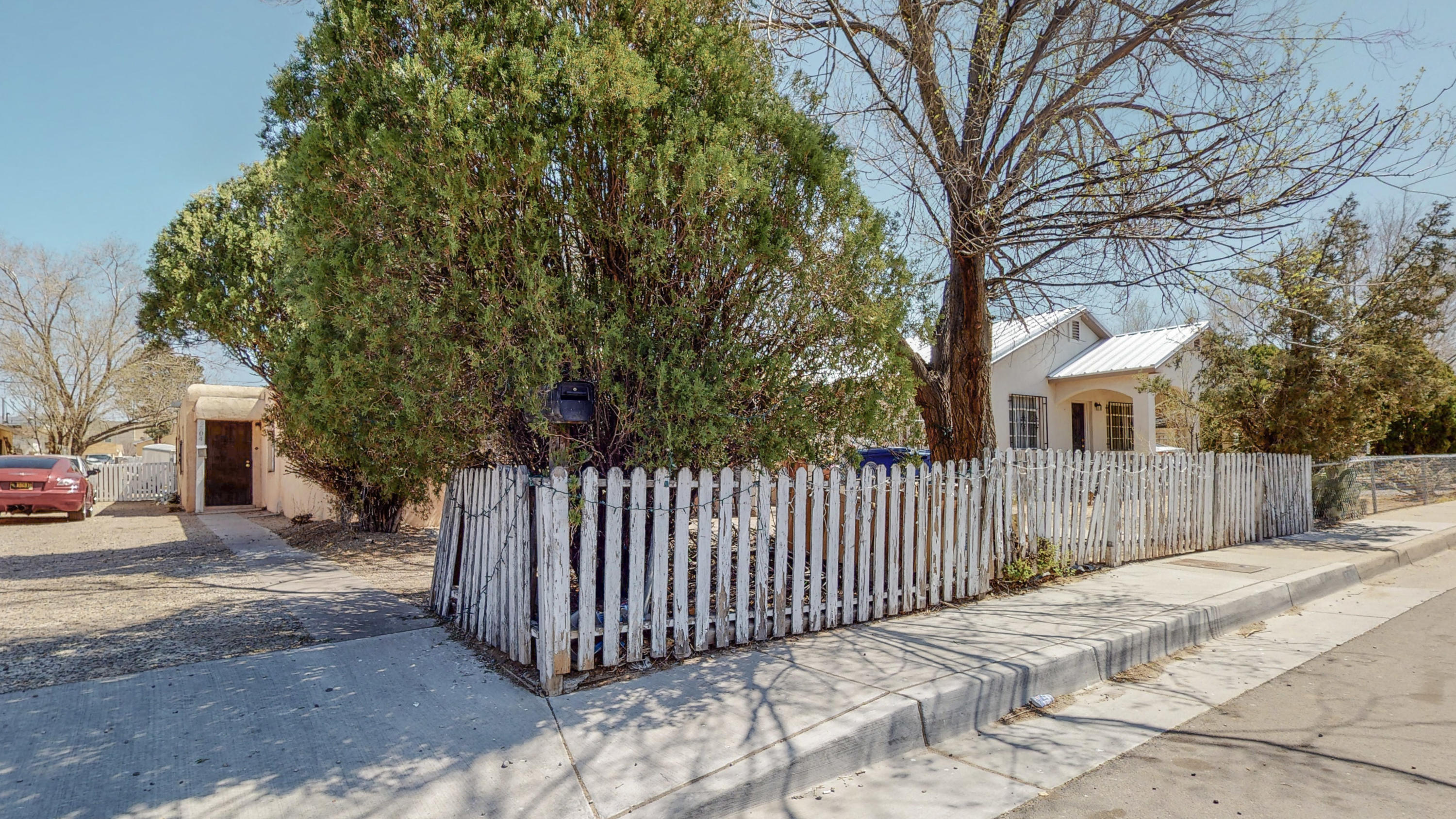 Super cute duplex with lots of potential.  Each unit is 2 bedroom, 1 full bath in approximately 900 square feet.  Spacious, functional floorplan with eat-in kitchen.  In need of a little TLC, but ready for a new owner.  Roof replaced in 2021.