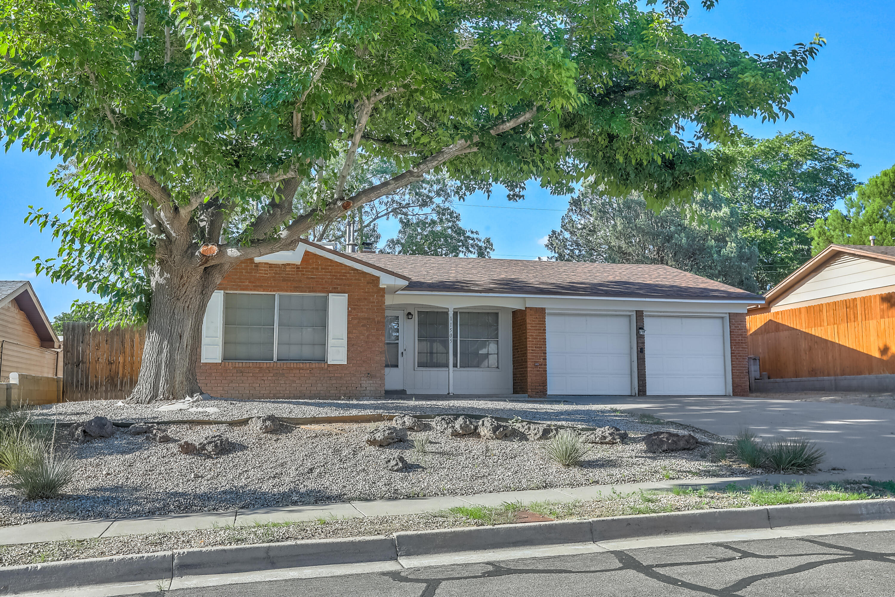 Come see this 3 bedroom, 2 bathroom starter home or investment property in the NE Heights. Home has amazing potential and is waiting for its new owner. Conveniently located near gym, restaurants and grocery store. No property disclosure. New roof in May of 2020.