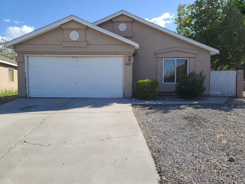 This home needs work and updates but has great features throughout. Has a spacious open kitchen with eat in area, large living room with fireplace and spacious yard with covered patio area for entertaining. This is a great home with potential at an excellent price. come take a look! Home is being sold AS IS.