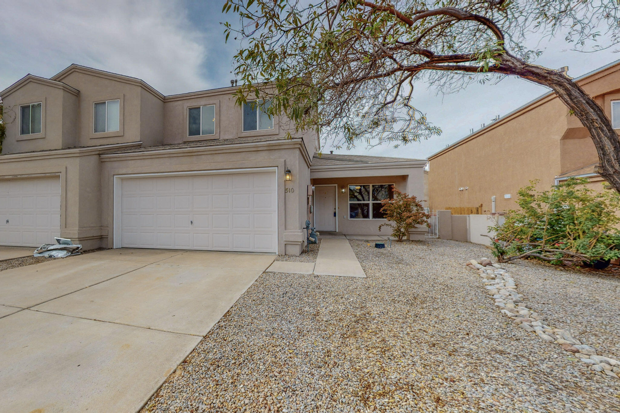 ''AS IS''  Close to I-25, Main Street, and Los Lunas High School.  With recent renovations, the following items are all NEW: Roof, Swamp Cooler, Kitchen Sink, Paint, Flooring, Range, Dishwasher, Garbage Disposal. Toilets, and Bathtub in Master Bathroom.