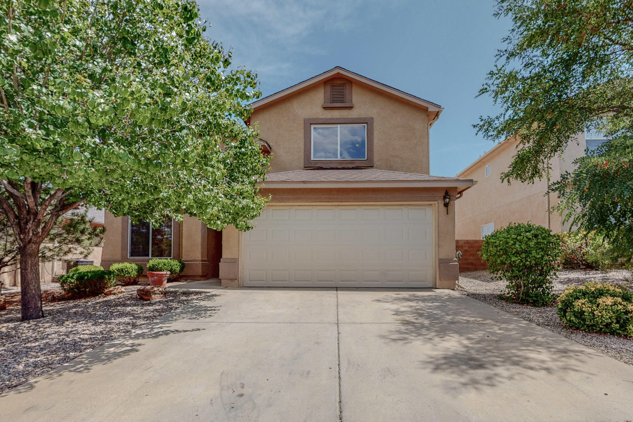 Come see this beautiful, well maintained home that shows pride of home ownership! Home has a new roof with transferable warranty, new low flow toilet in the upstairs bathroom and the master is located on the main floor. Enjoy sitting in your large back yard with friends and family for a BBQ. Or watching the sunset off your backyard balcony with a glass of wine.  Home has extra storage in the back yard that is wired with 220 for a hot tub or use as a workshop or storage. This home won't last long!