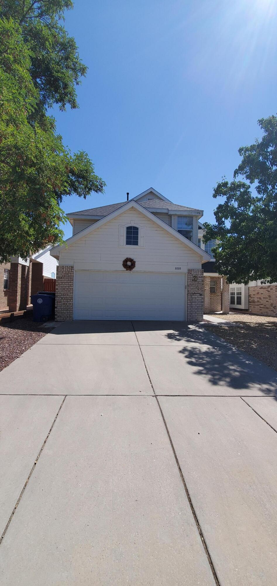 Welcome home to this beautiful home in the desirable La Cueva district! 3 bedrooms, all upstairs, 2.5 baths. Tons of natural light downstairs with clerestory windows! Raised ceiling in Living Room with gas log fireplace. Kitchen has all SS appliances plus Dining Room. Bedrooms all have walk in closets, large Master Bedroom with spacious Master Bath. Open patio in backyard! Updates in home include...New roof (June 2019) Don't wait!! Schedule your showing today. Title with Irene Lenard- Old Republic Title