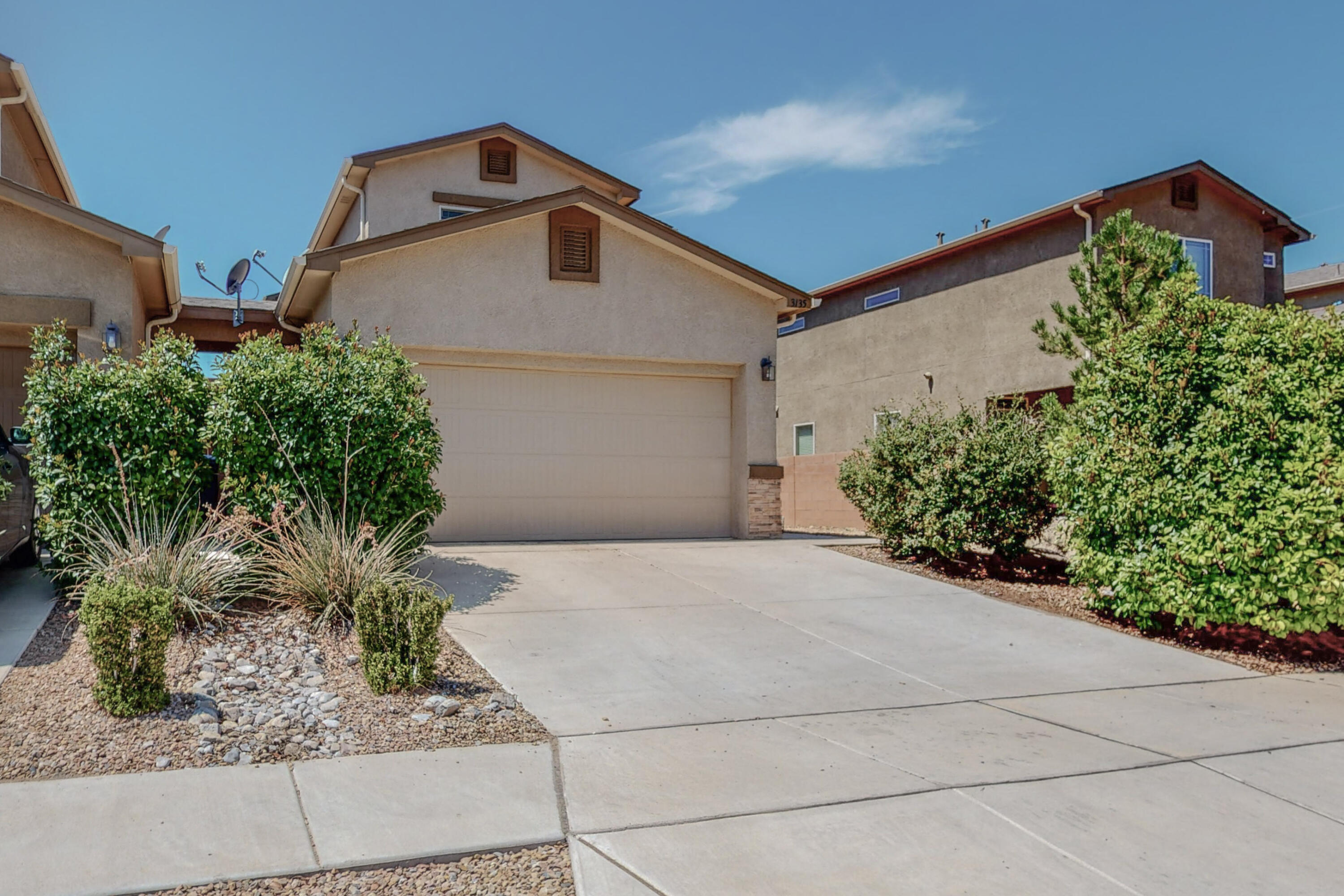 Turn key and ready for new owners.  This home offers 3 bedrooms, 2 baths, 2 car garage, a nice open floor plan, fresh new carpet, refrigerated air conditioning to keep you cool in the summer days, energy efficient tankless water and much more.