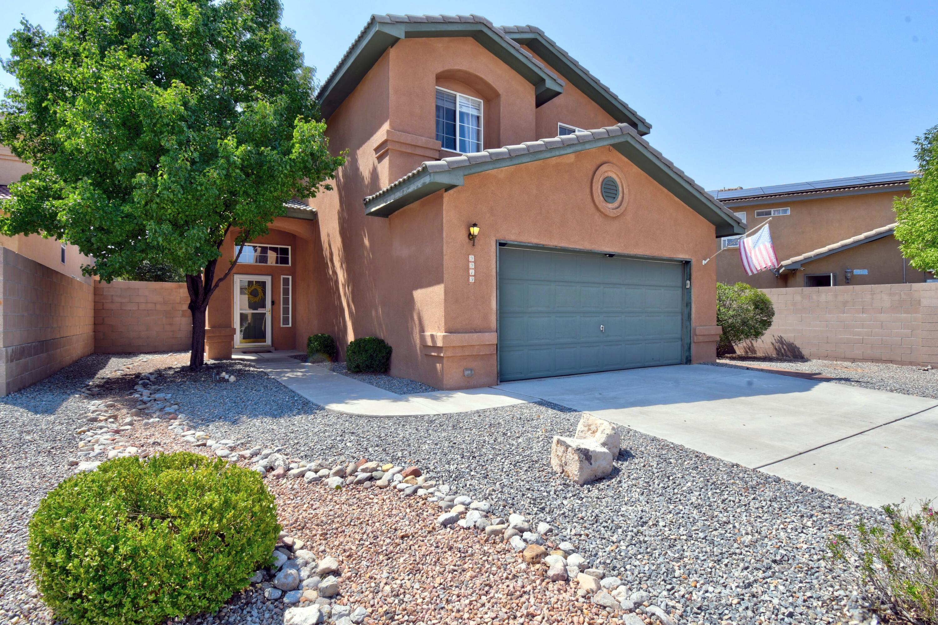 Oh, My Goodness!!! This Is One Of The Most Beautiful Homes You Will Ever Step Into In Paradise Ridge.   Offering just under 2200 feet of living space, this 4-bedroom 3 bath with a finished 2 car garage has had extensive improvements and up grades since the owners have lived here.  Completely remodeled kitchen with stainless steel appliances, cabinets, counter tops, and light fixtures.  It has a beautiful open floor plan with two living spaces as well an up stairs loft that can be a study, office or kids play area.  The master bedroom is generous with a large garden tub, separate shower, and double sinks.  All appliances convey including the front-loading washer and dryers. The back yard is a dream for the family who likes to entertain or enjoy the peace and and tranquility of the evening.