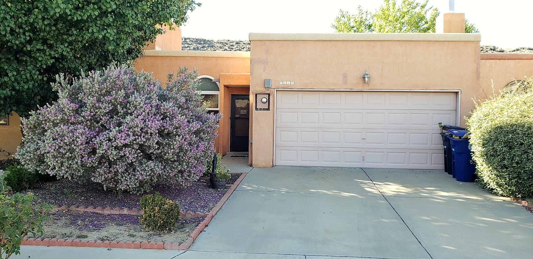 Wonderful Town Home with open Floor Plan!This nice home offers vaulted ceilings, a large great room with open dining area and nice granite counter tops with custom tile backsplash in Kitchen as well as a Private Patio. Low maintenance back yard and large two car Garage. Water lines have been replaced.