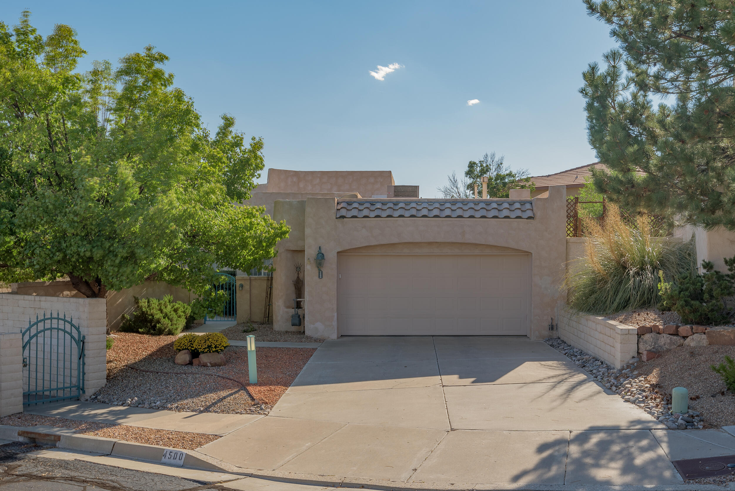 The search is over! Natural light, spectacular views, private courtyard all in a gated community; what else could you ask for!? TPO roof, Refrigerated air and Water Heater all replaced within the last 5 years (transferable warranties on the roof and refrigerated air). Upgraded shower in the Owners suite and don't forget the radiant heat! This home has been meticulously maintained inside and out. Seller is reviewing offers as they are received.