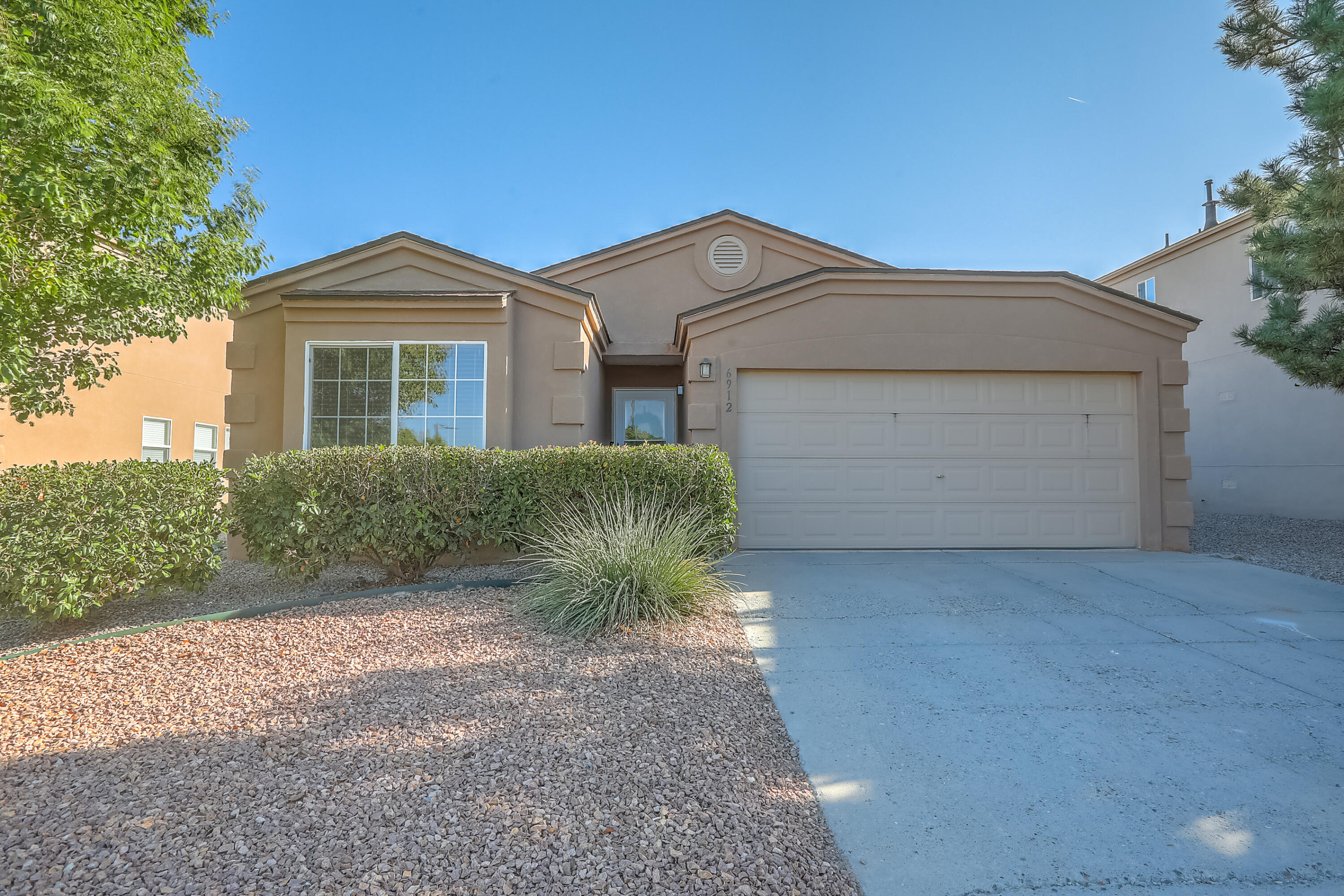 Wow, this just might be your dream home in Ventana Ranch. Remodeled with Joanna Gaines flair and design, you are sure to fall in love.  Enjoy the beautiful kitchen that offers stainless steel appliances, granite counter tops, eat in breakfast nook, and wood grain tile floor. The massive living room can also house a formal dining room. The primary bedroom is spacious and includes an updated en-suite featuring dbl sinks, granite counter tops, and a large walk in closet. The additional two bedrooms are well sized. The guest bathroom has also been updated! So many wonderful items including refrigerated air conditioning, laminate and tile flooring throughout, & newer paint throughout.  This is Ventana Ranch living at its finest.