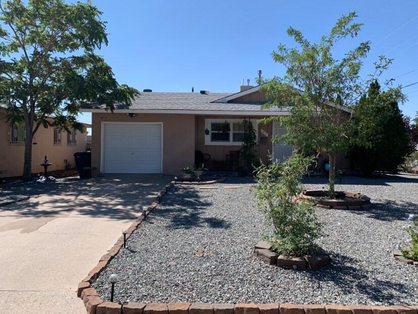 Look at that curb appeal! This tenderly cared for home has new flooring and paint. The bright and large living room leads to 3 bed rooms and 1 bathroom. This home boasts a spacious eat in kitchen. Don't wait to check out this gem!