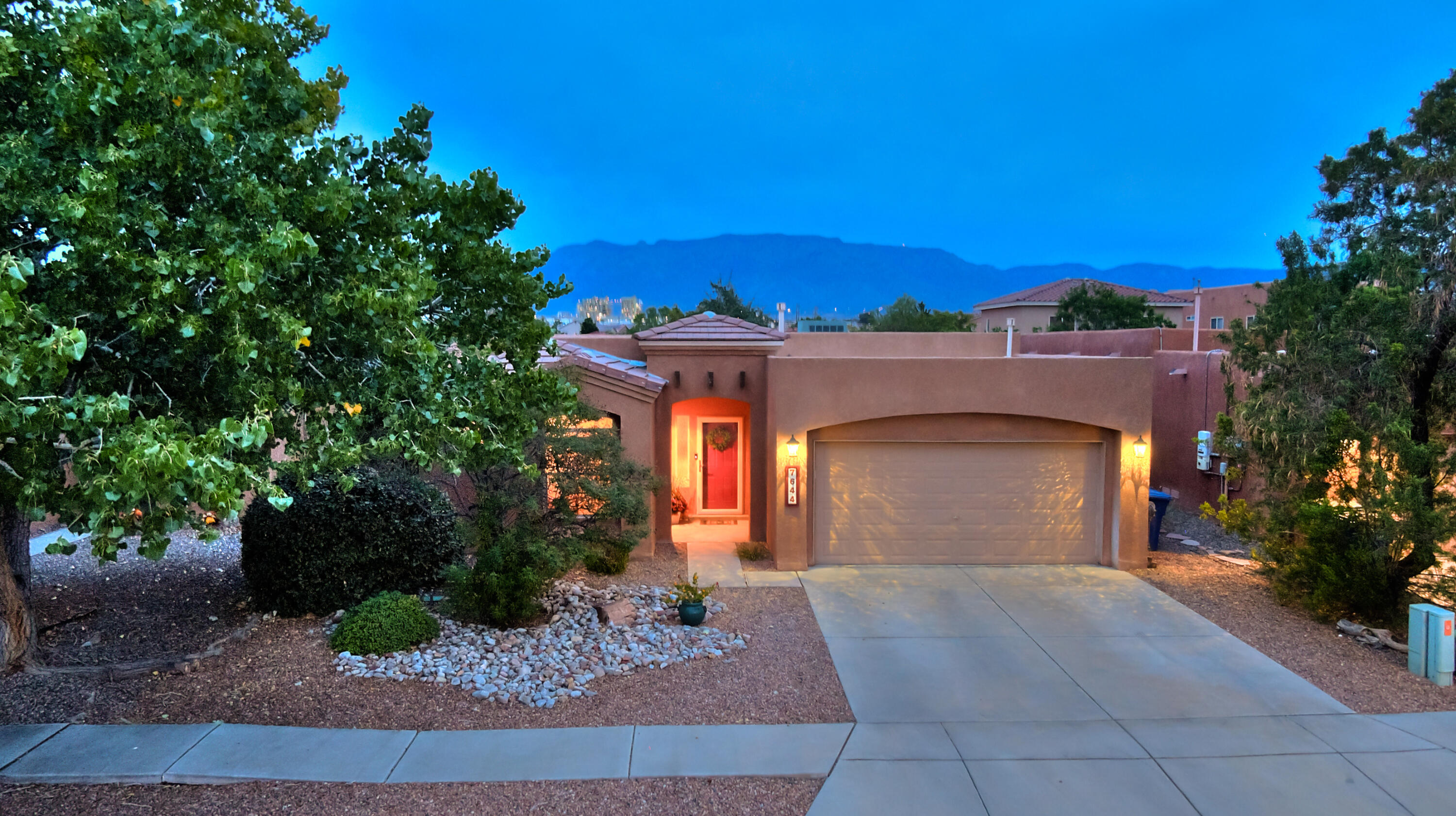 You won't want to miss this beautiful and tastefully updated, single level, 4 bedroom, 2 bathroom home in Vista Del Norte. Enjoy the spacious, open, and versatile floor plan with a separate owners suite. The stunning chef's kitchen offers elegant granite counters, custom tile backsplash, gas range and vent hood. A new roof (8/2021 - flat portion only), upgraded tile flooring in the bedrooms, and a recently updated master bathroom including custom tile in the shower are just a few of the highlights of this home. The fully landscaped backyard complete with a pergola is the perfect place for entertaining or enjoying dinner alfresco.
