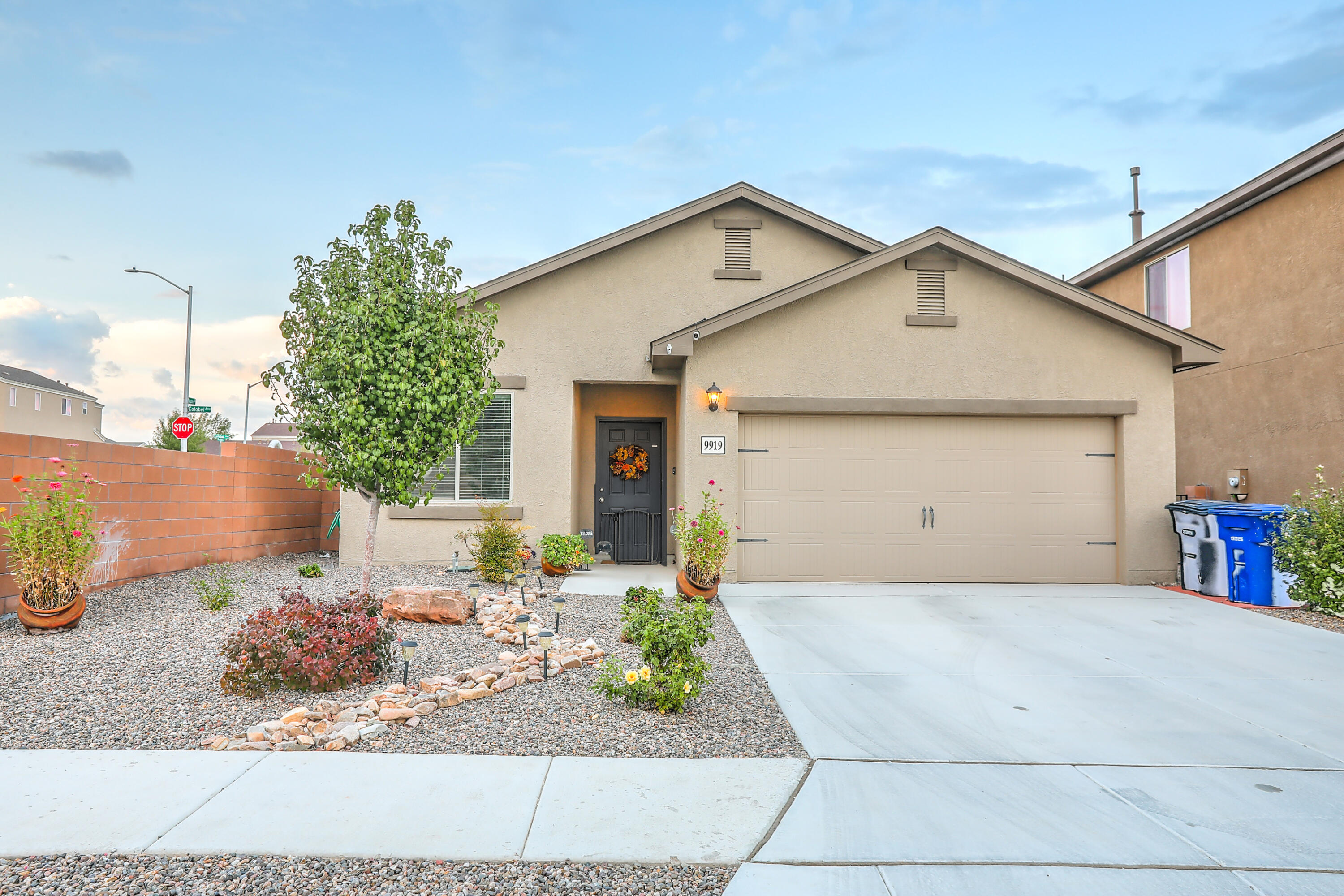 A wonderfully remodeled and maintained home. Just 3 years old. Corner Lot. Tile throughout. Fully Landscaped with a 3-zone drip system. Over $45k in upgrades. Close to parks and easy access to major roads.