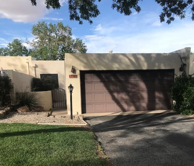 Estate property in close-in Rio Rancho adult community. Nicely maintained desirable subdivison.  All carpet has been removed. Needs roof work  Being sold as -is.  Check the  comps to see the upside. Some deferred maintenance - priced accordingly.See LO/SO